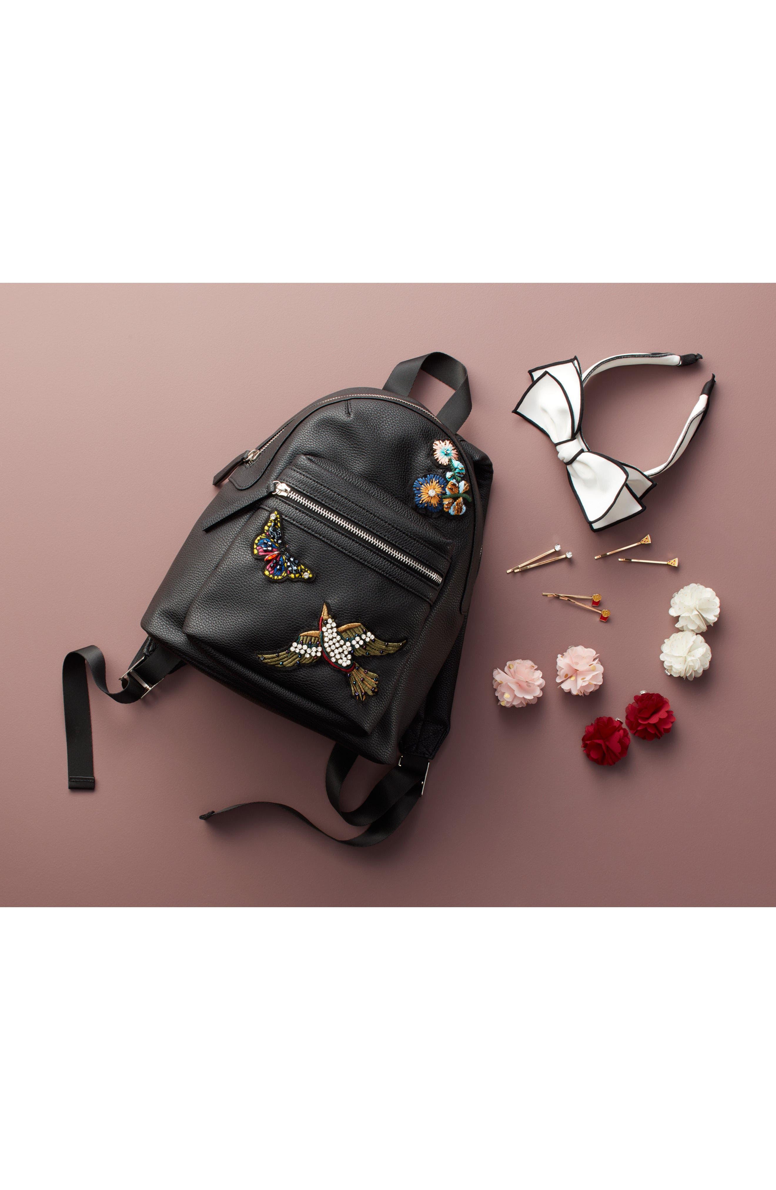 Alternate Image 4  - Capelli New York 6-Pack Flower Hair Clips (Big Girls)