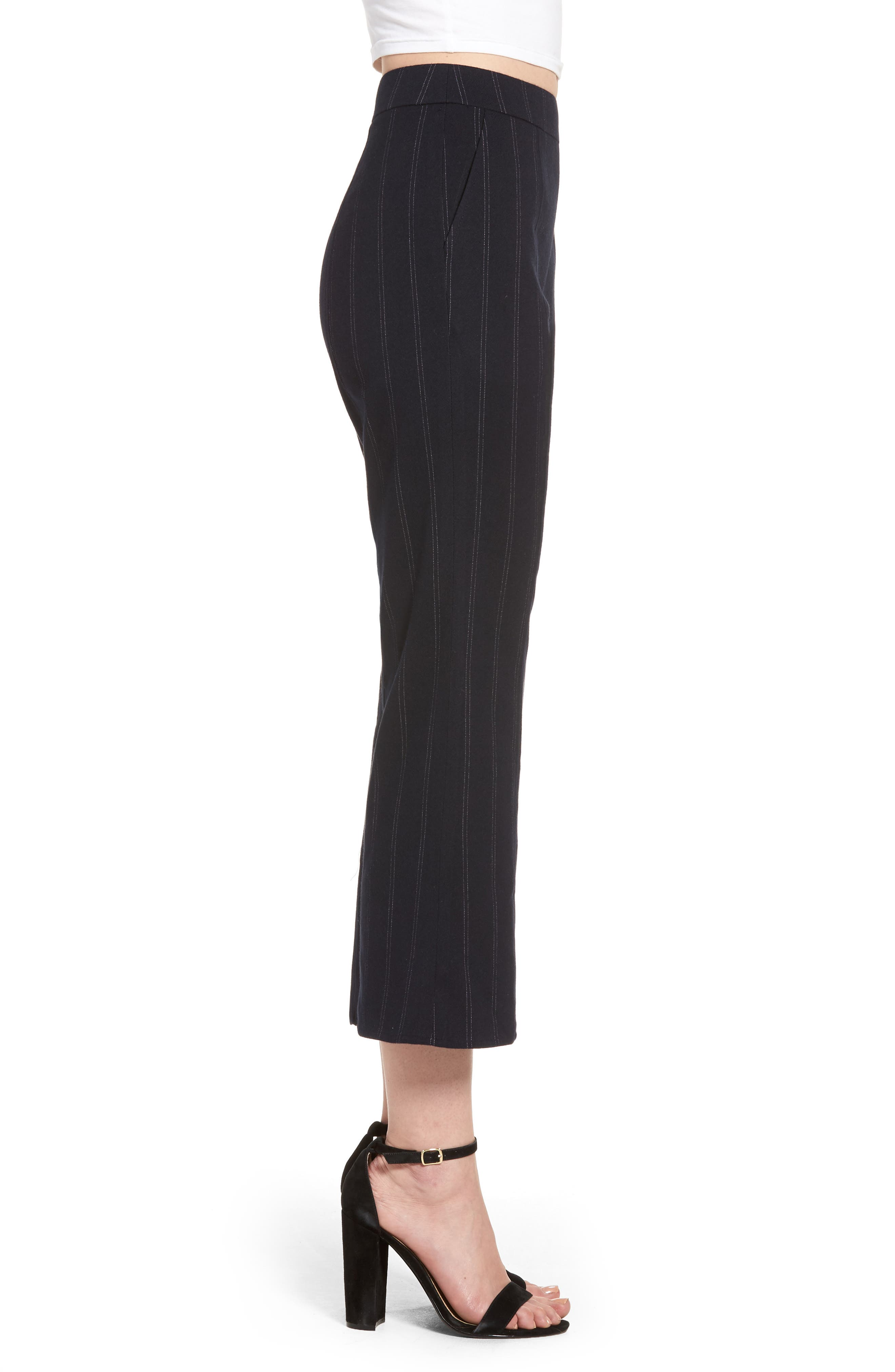 Alternate Image 3  - Leith Crop Flare Pants