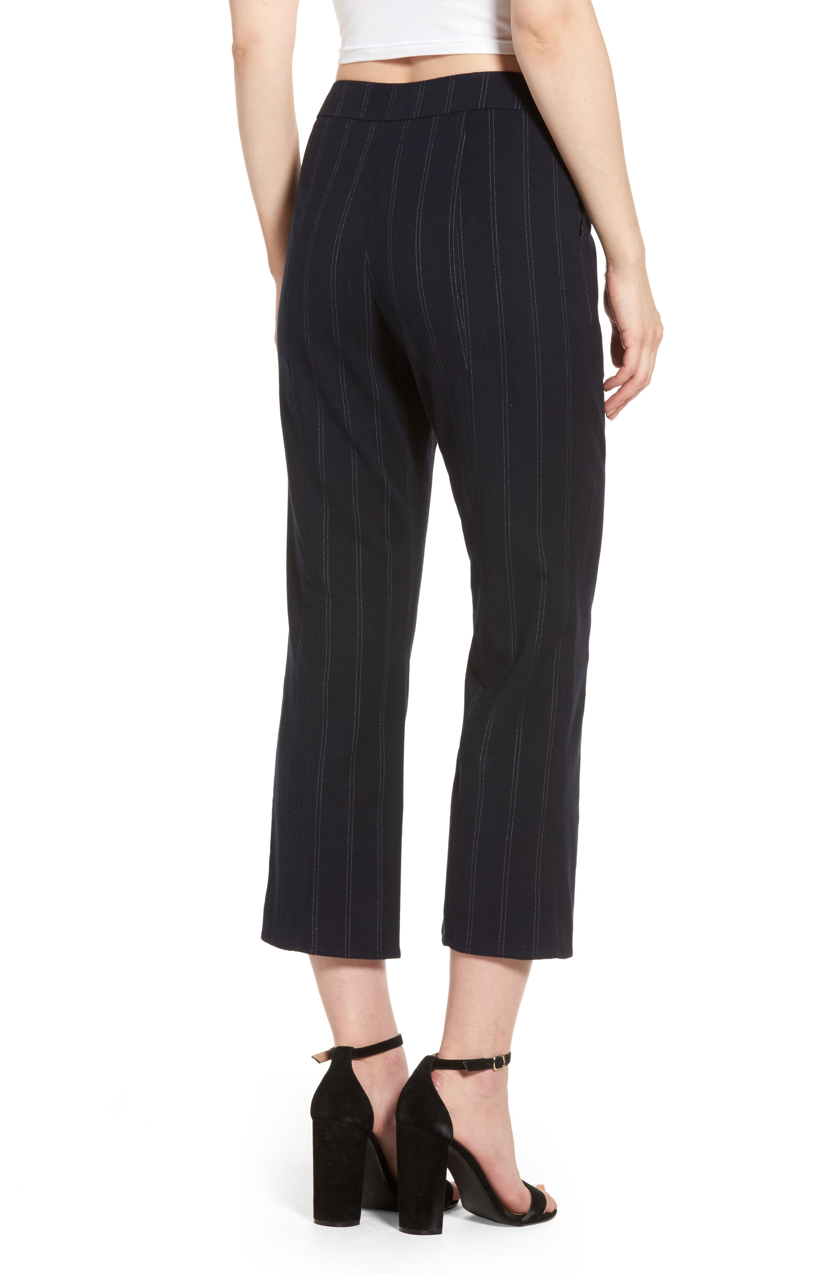 Alternate Image 2  - Leith Crop Flare Pants
