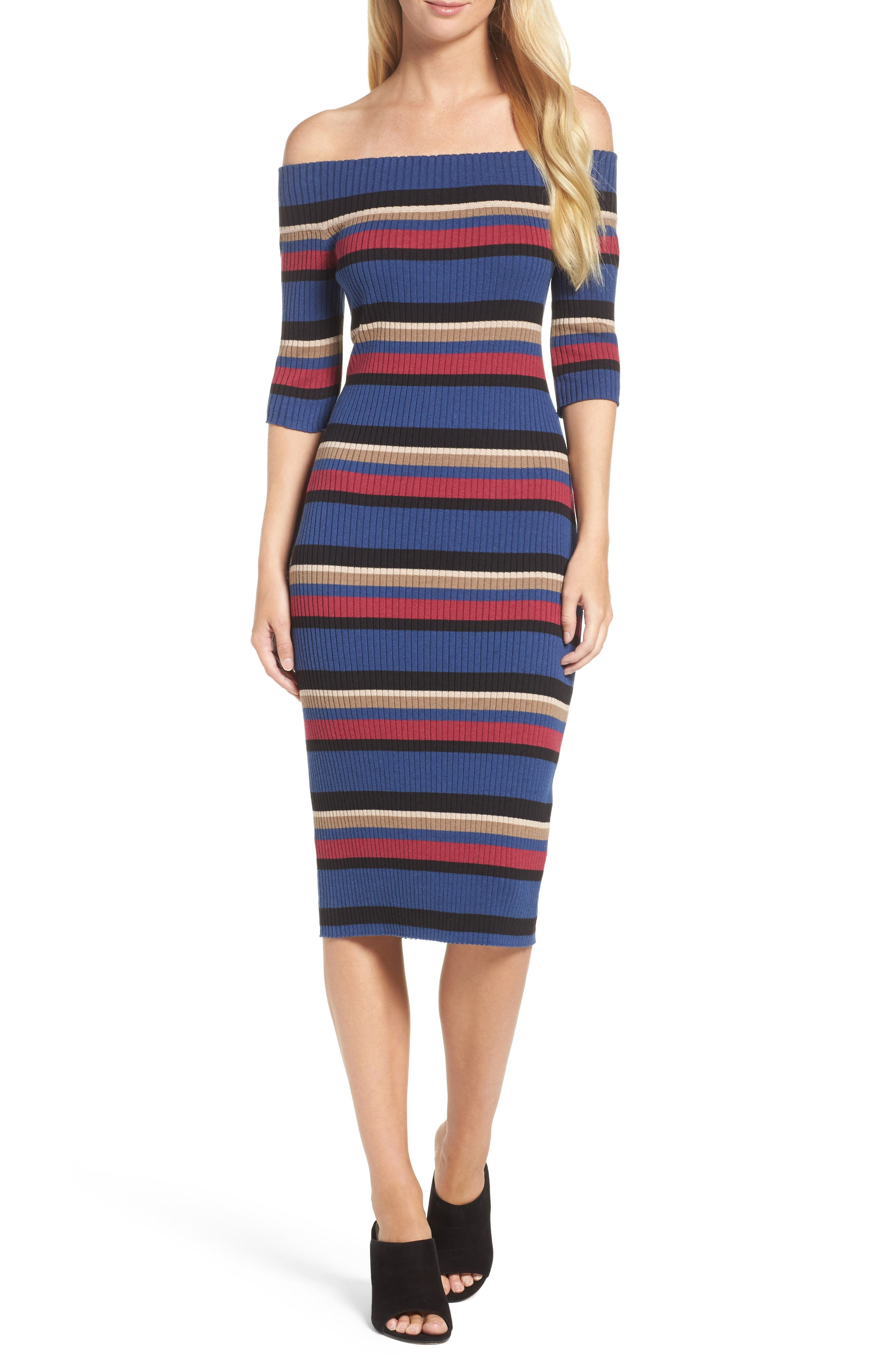 trina Trina Turk Off the Shoulder Dress