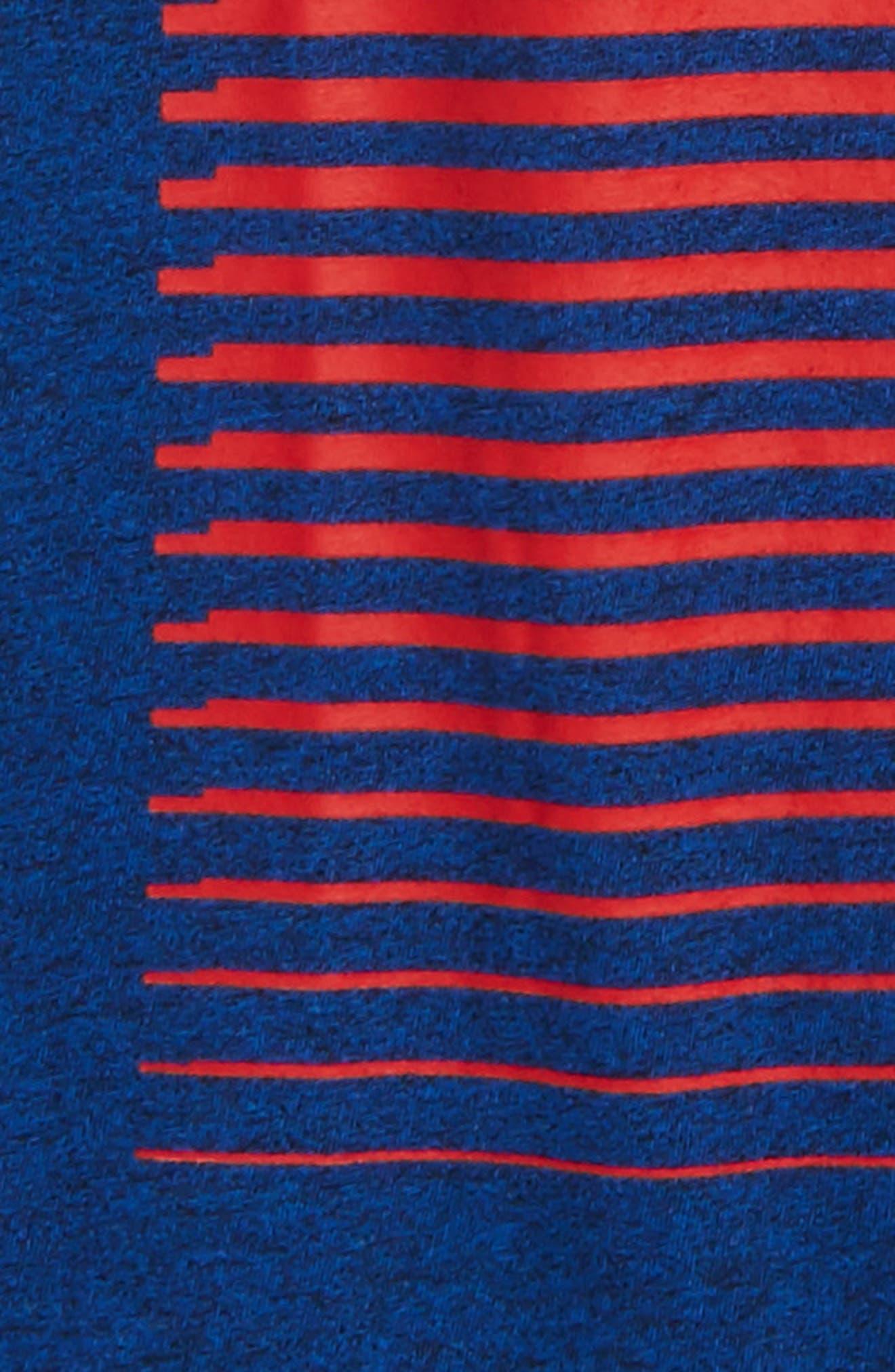 Alternate Image 2  - Converse Linear Ombré Pocket T-Shirt (Big Boys)
