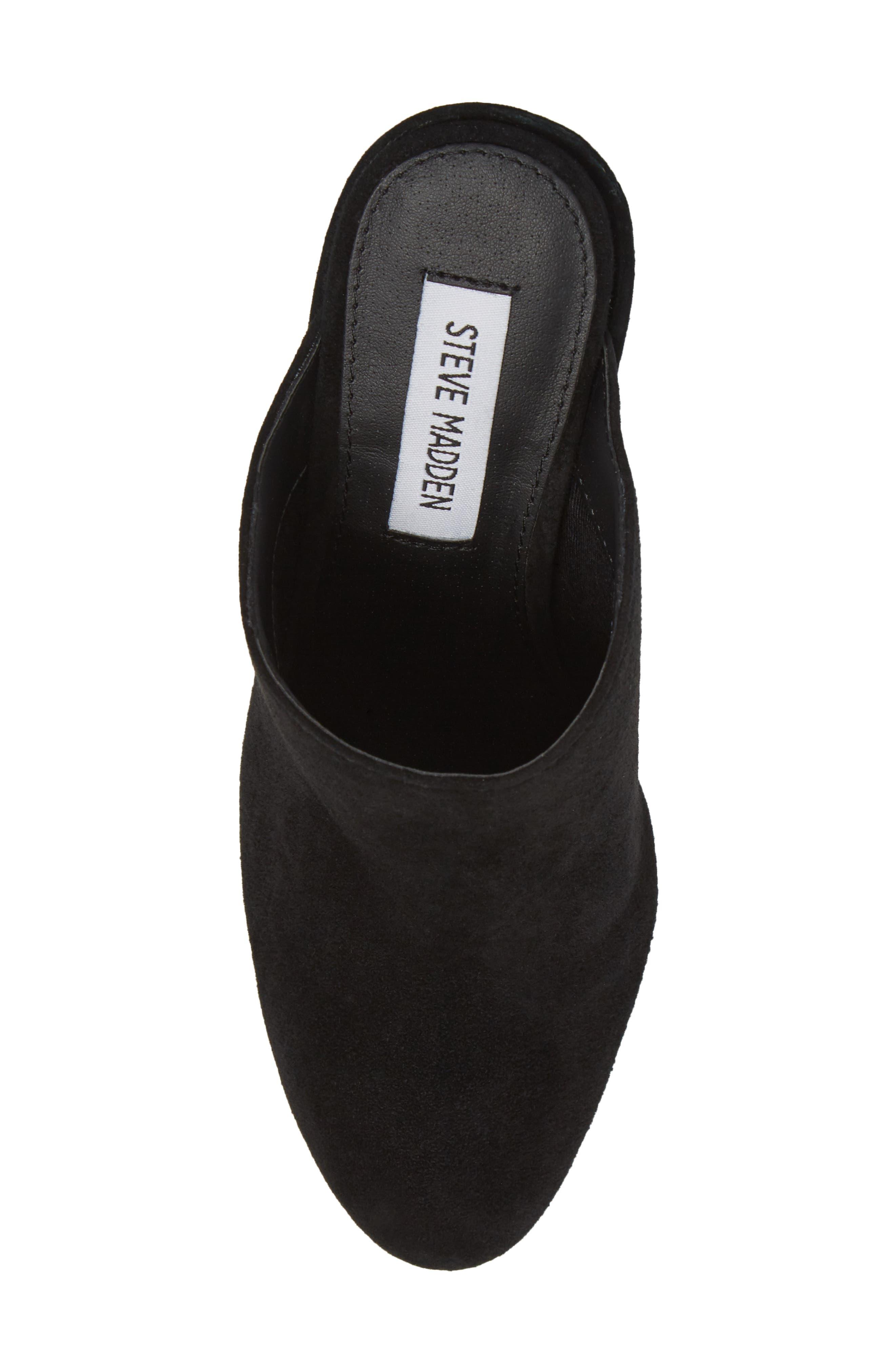 Alternate Image 5  - Steve Madden Stella Block Heel Mule (Women)