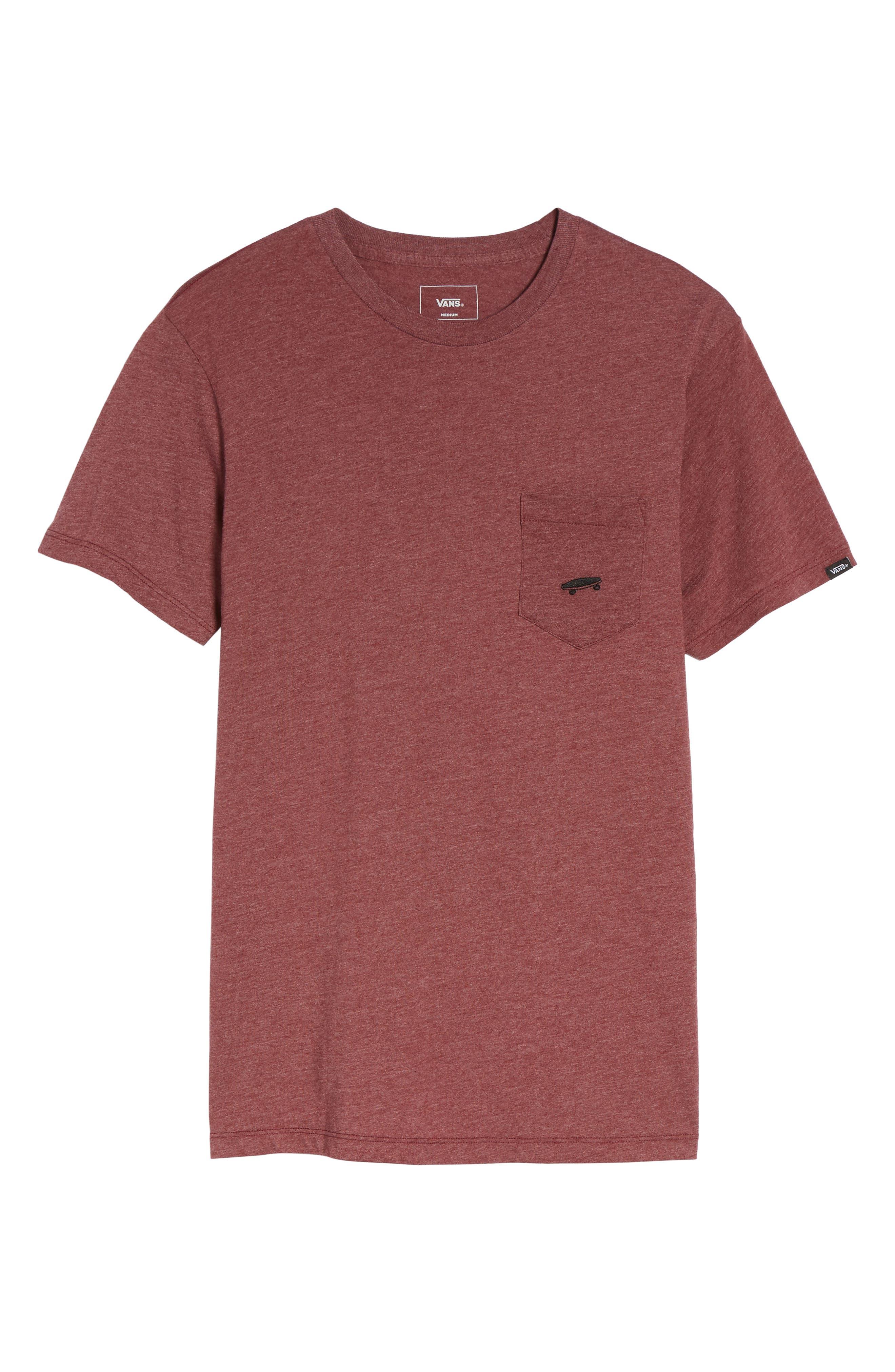 Main Image - Vans Everyday Embroidered Pocket T-Shirt