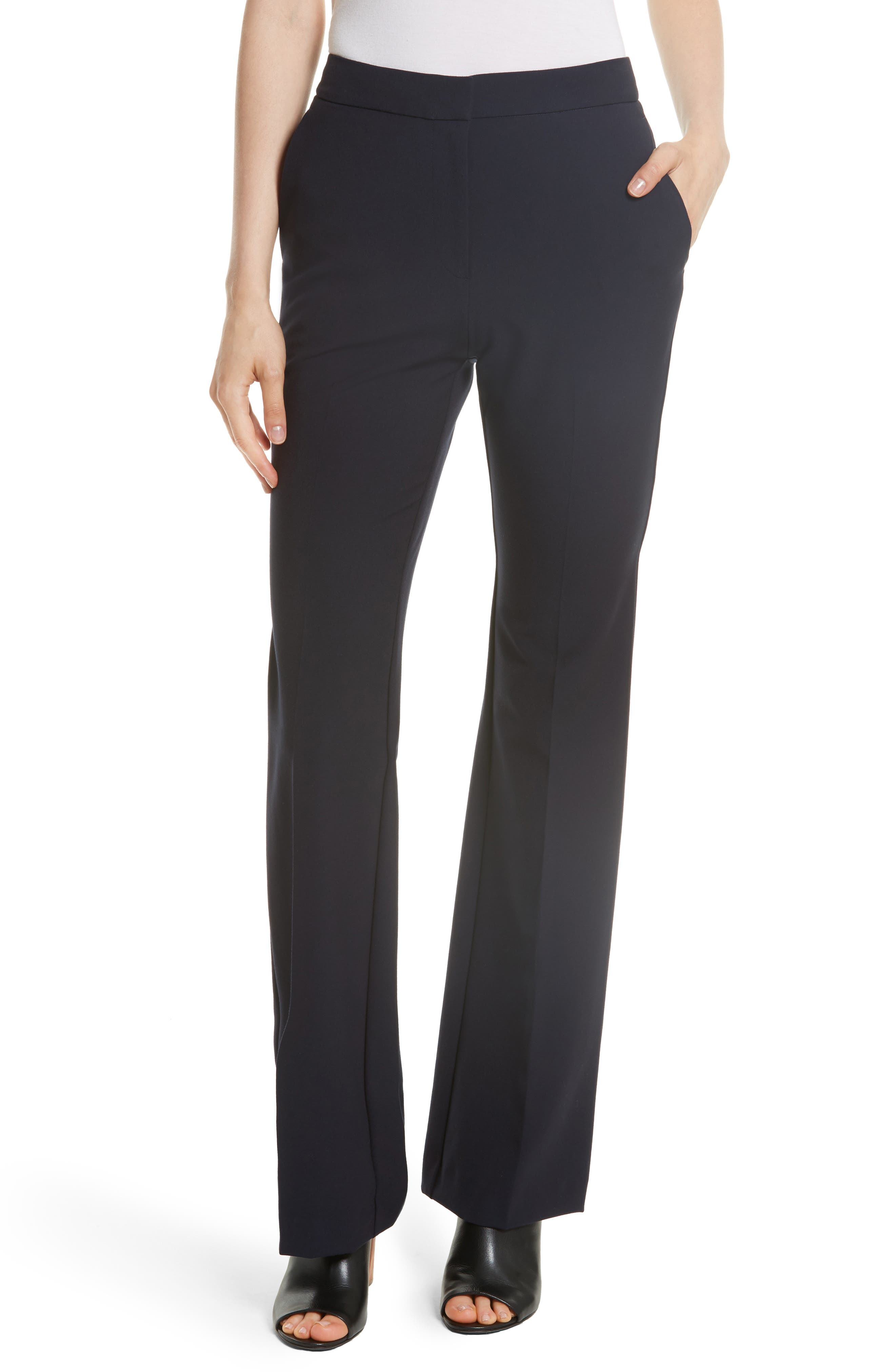 Stretch Suit Pants,                         Main,                         color, Dark Navy