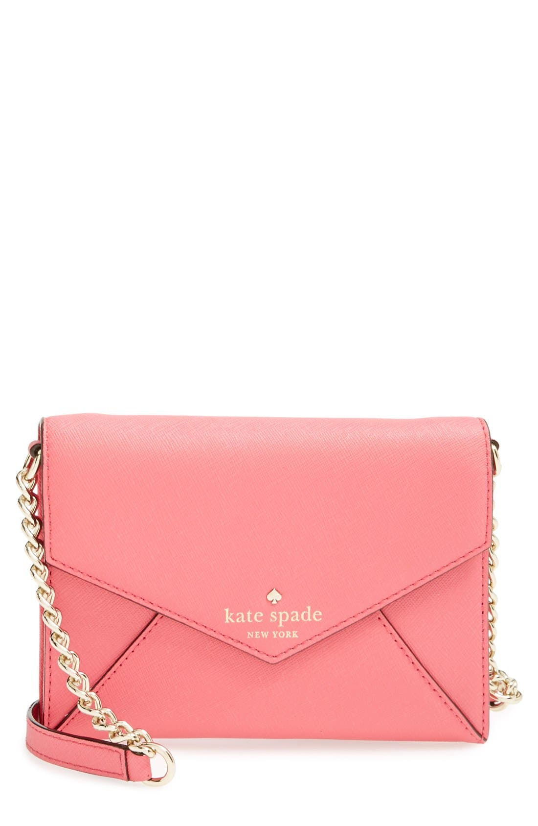 'cedar street - monday' crossbody bag,                             Main thumbnail 1, color,                             Cabaret Pink