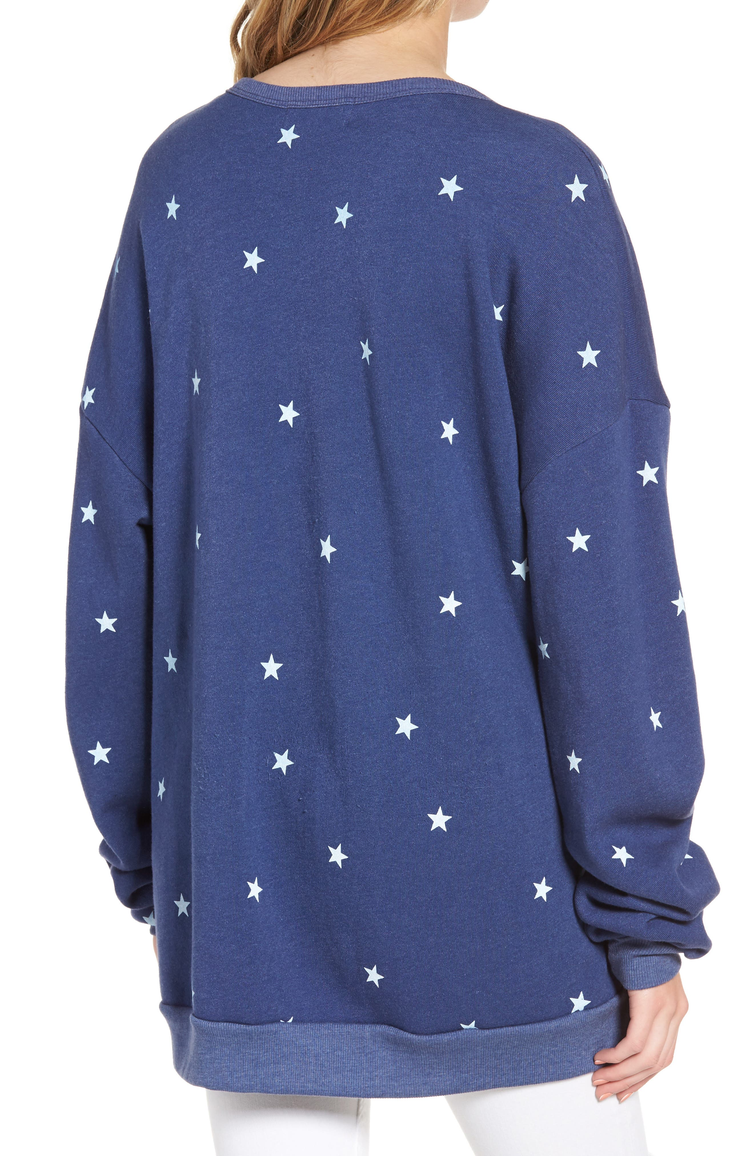 Alternate Image 2  - Wildfox Star Tunic Sweatshirt