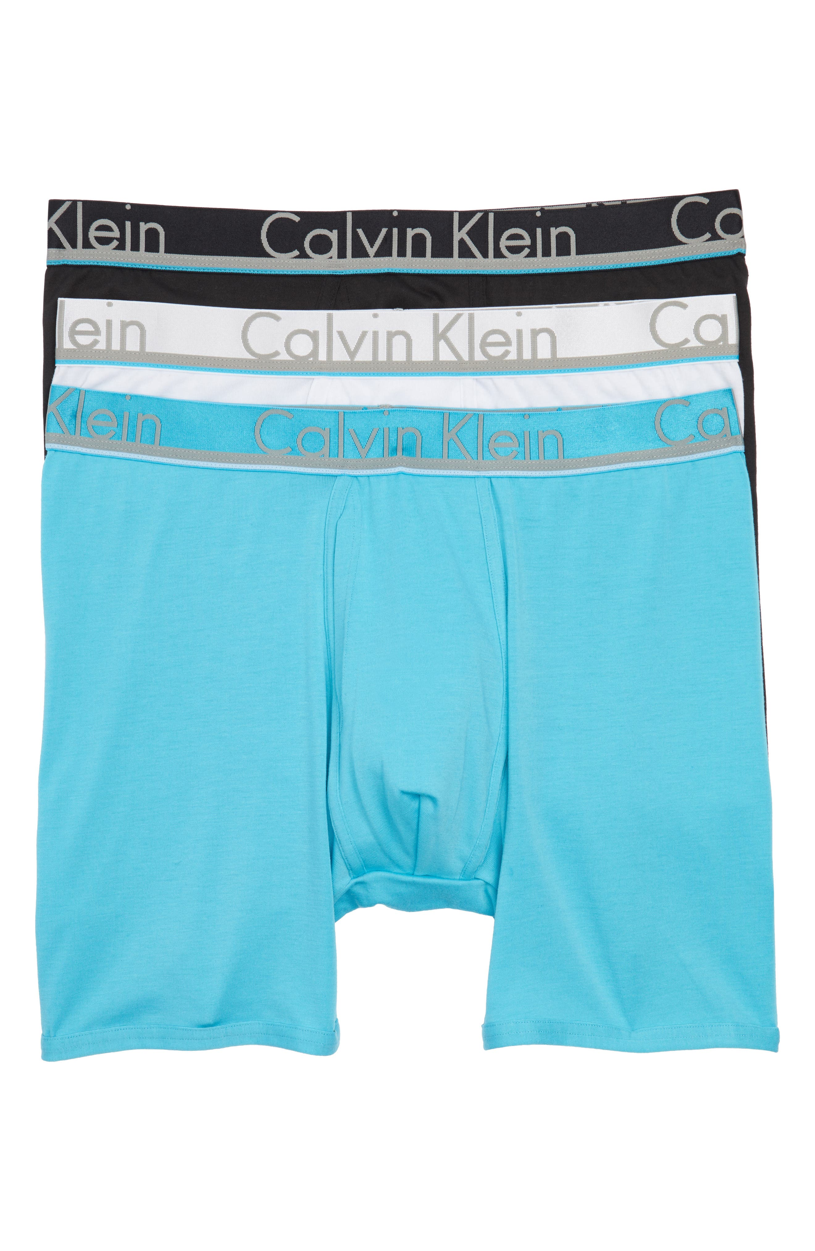 Main Image - Calvin Klein 3-Pack Comfort Microfiber Boxer Briefs