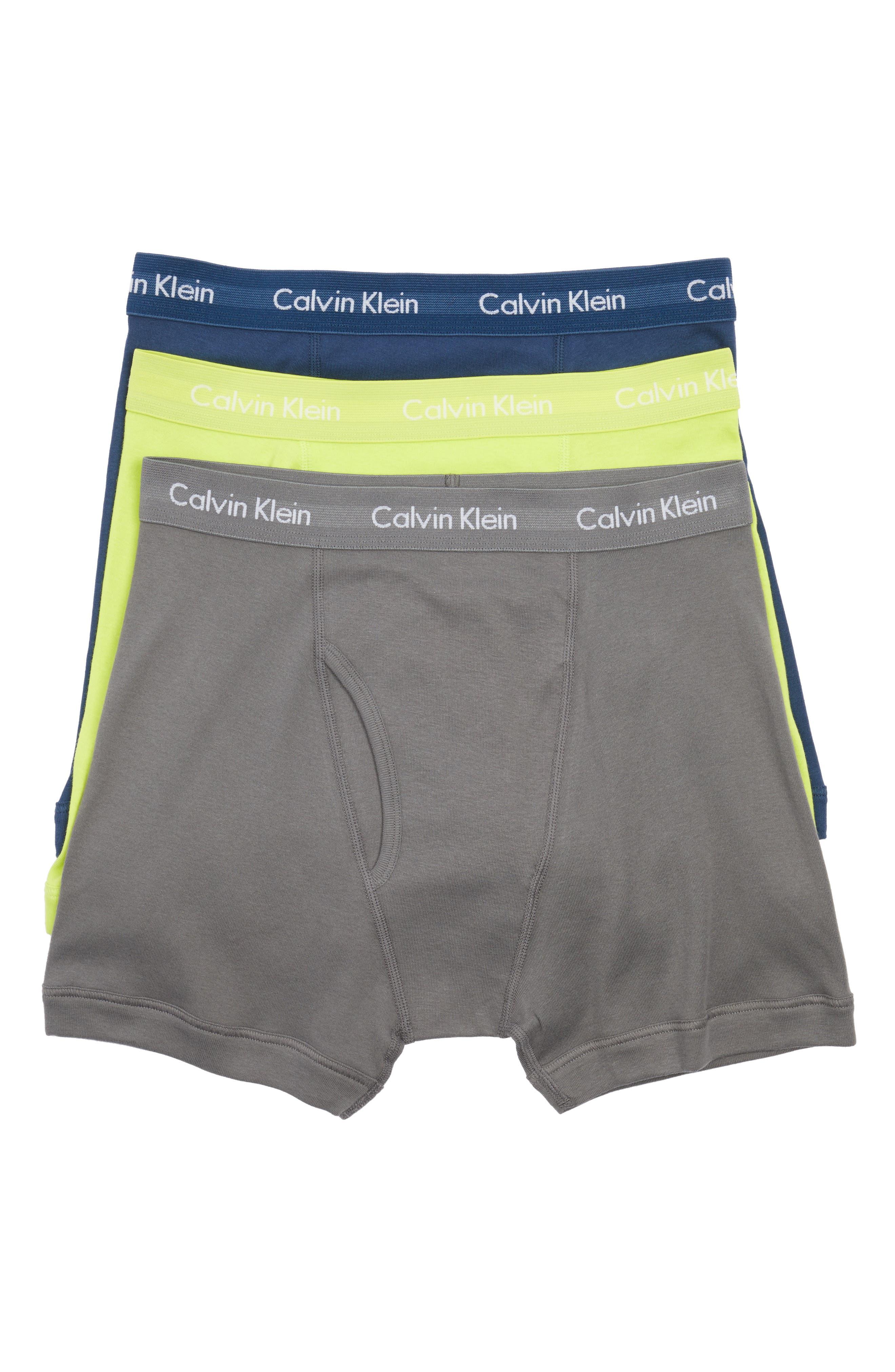 Alternate Image 1 Selected - Calvin Klein 3-Pack Boxer Briefs