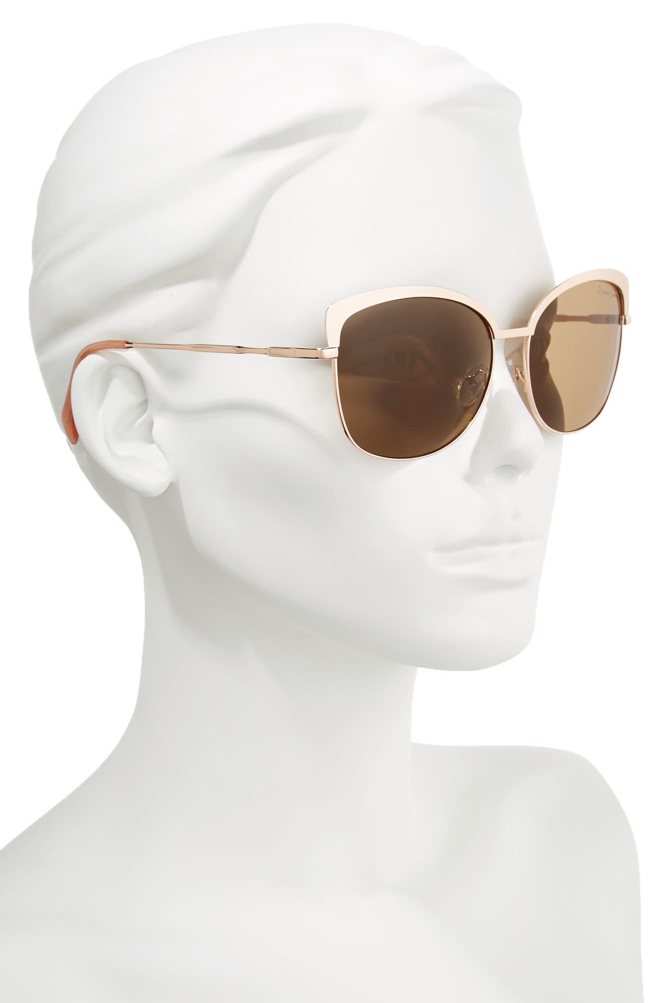 Alternate Image 2  - Draper James 60mm Cat Eye Sunglasses
