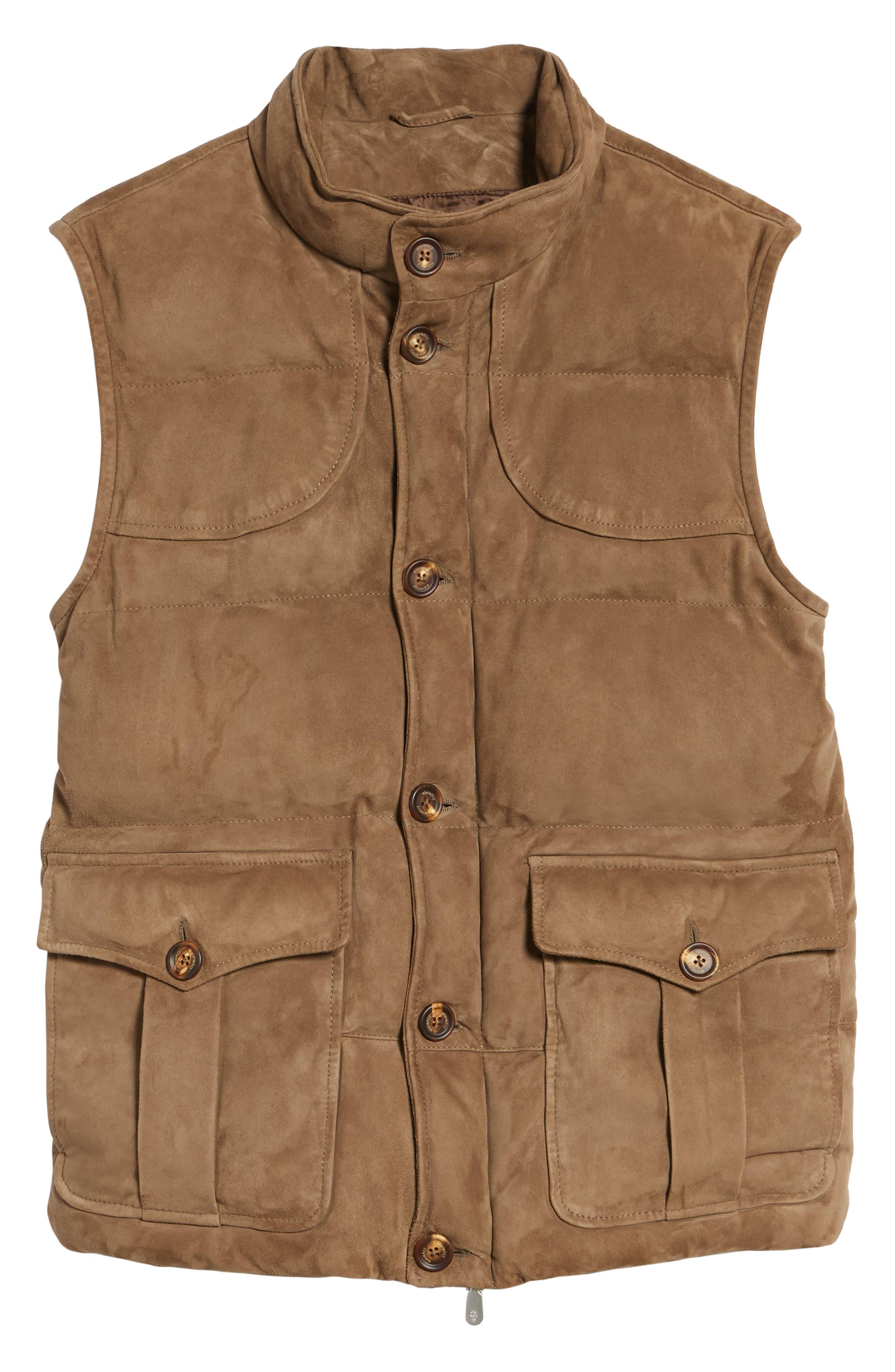 Alternate Image 6  - Eleventy Suede Vest