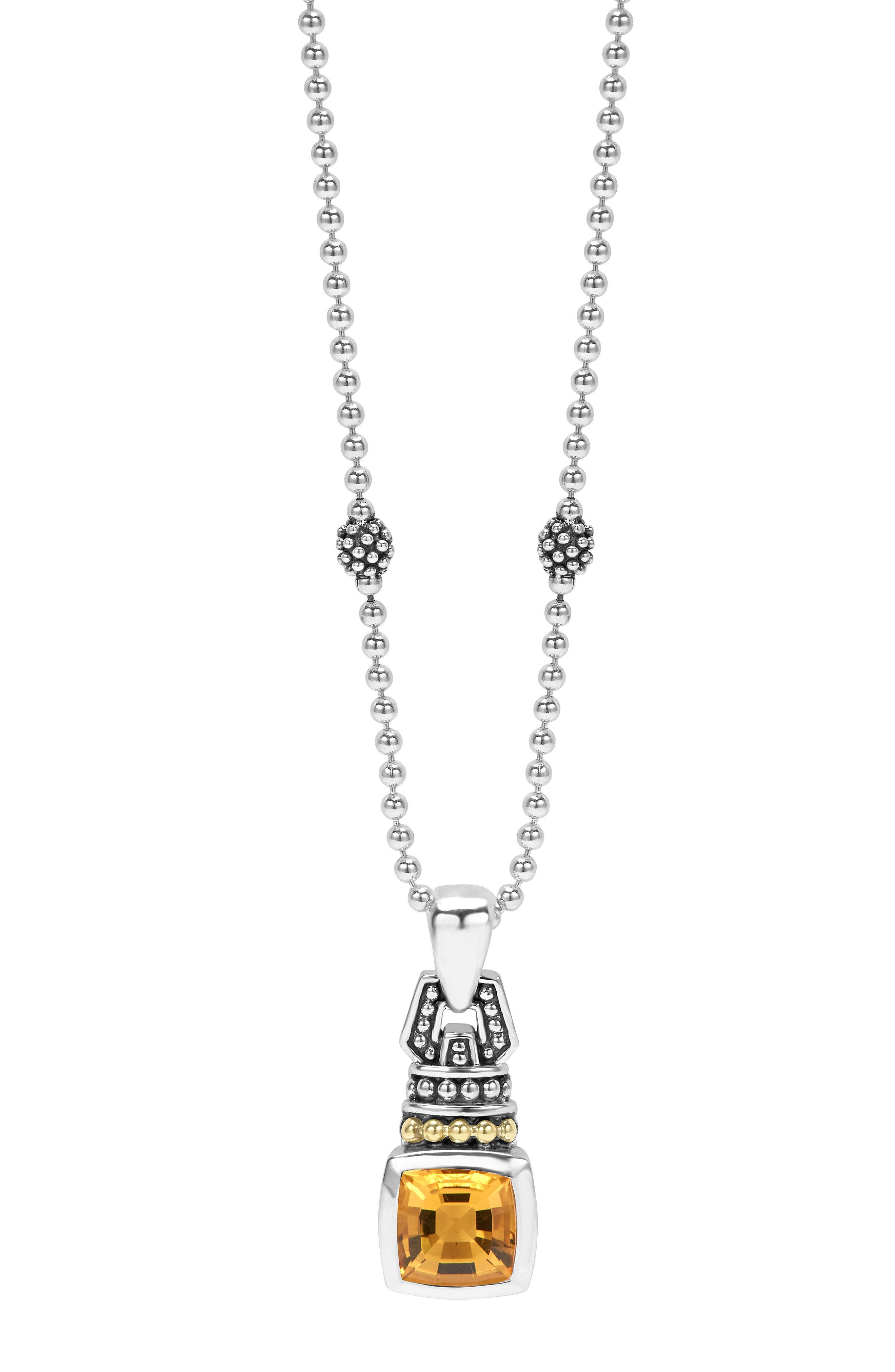 LAGOS 'Caviar Color' Pendant Necklace
