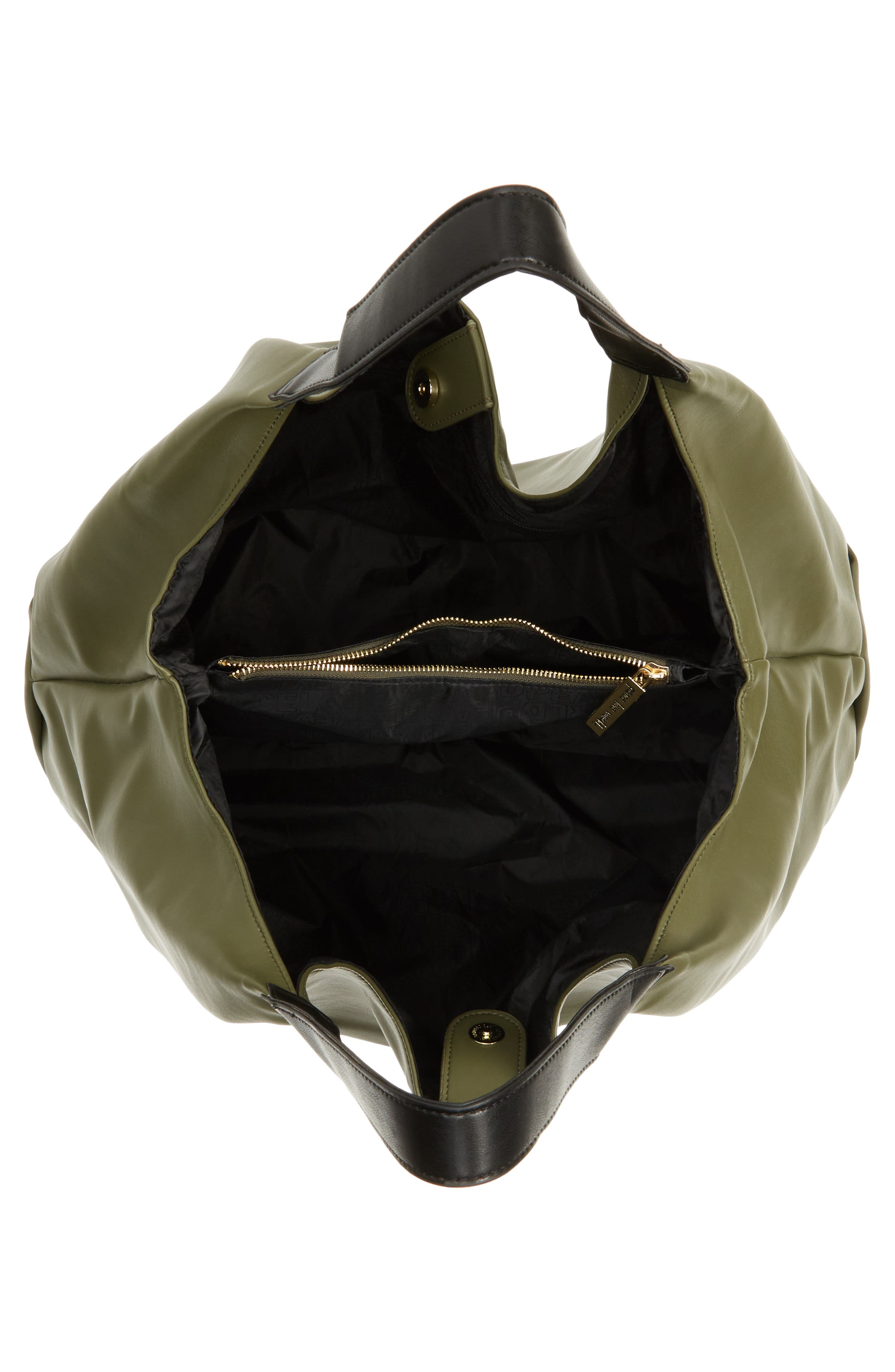 Alternate Image 3  - Peace Love World Slouchy Faux Leather Hobo