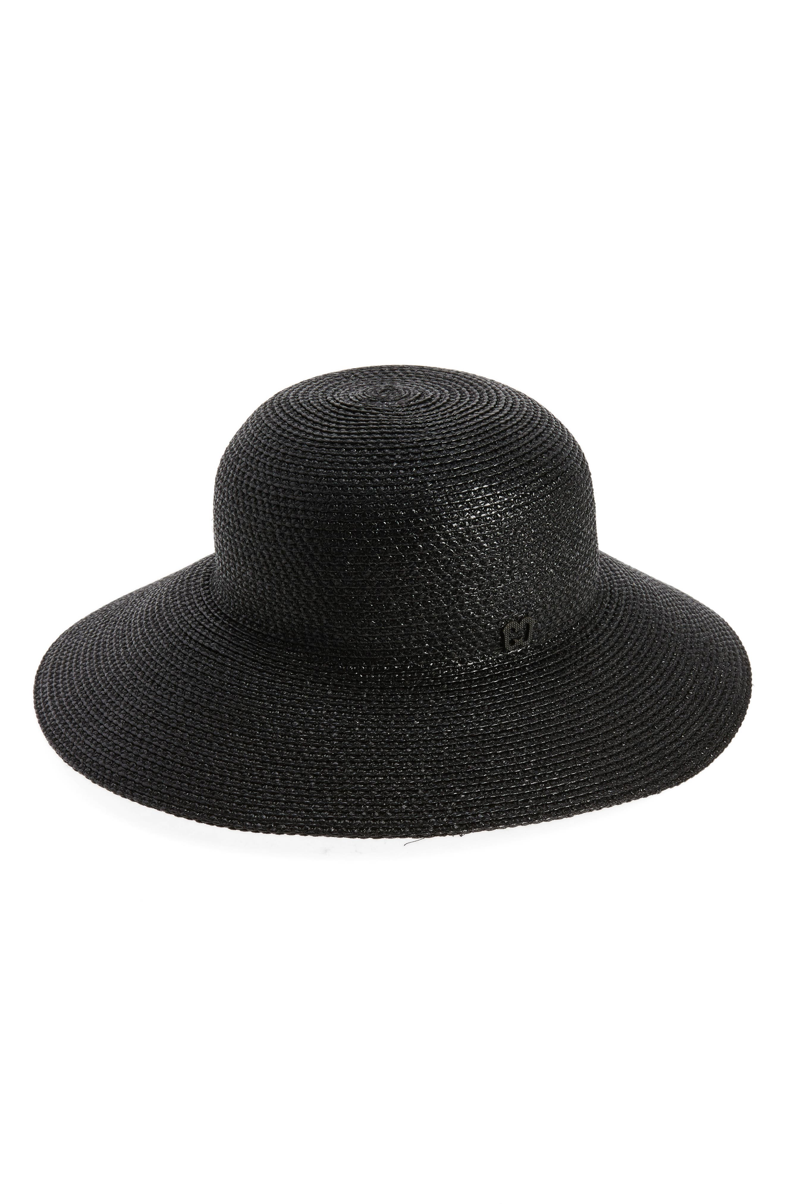 'Squishee<sup>®</sup> IV' Wide Brim Hat,                             Main thumbnail 1, color,                             Black