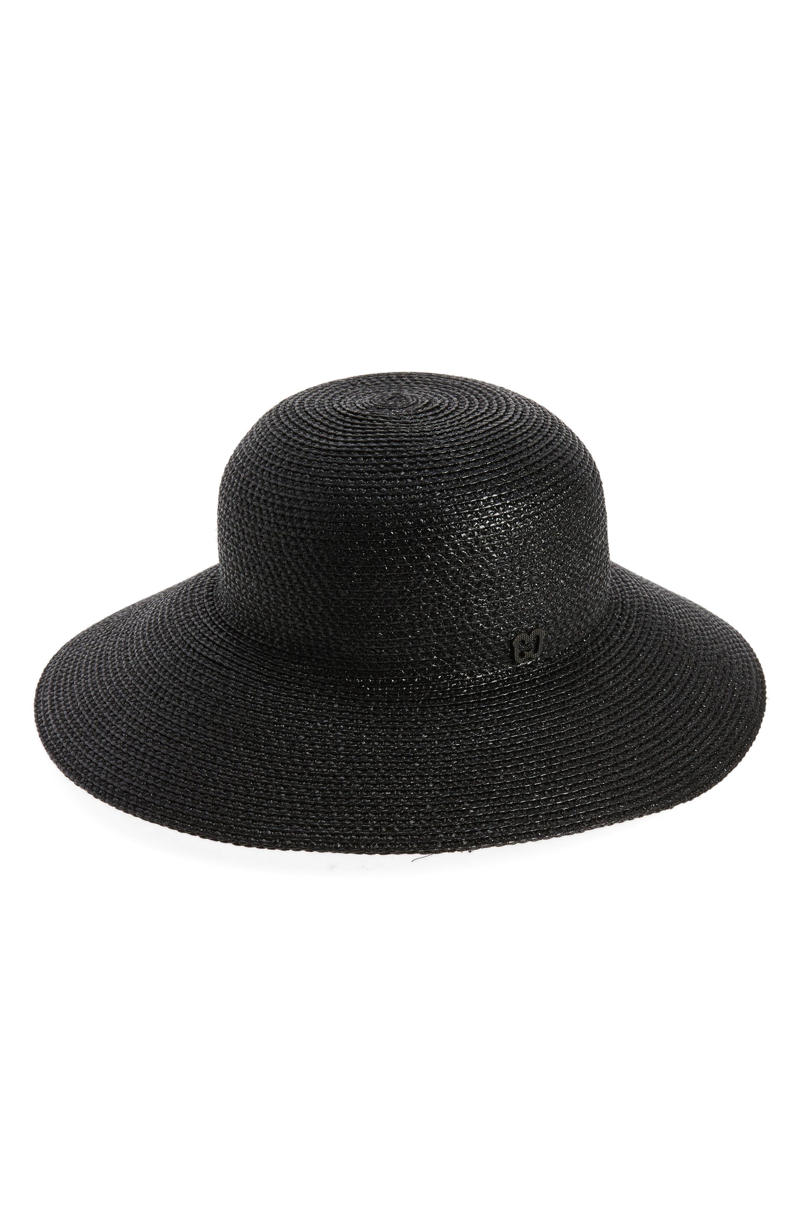 'Squishee<sup>®</sup> IV' Wide Brim Hat,                         Main,                         color, Black