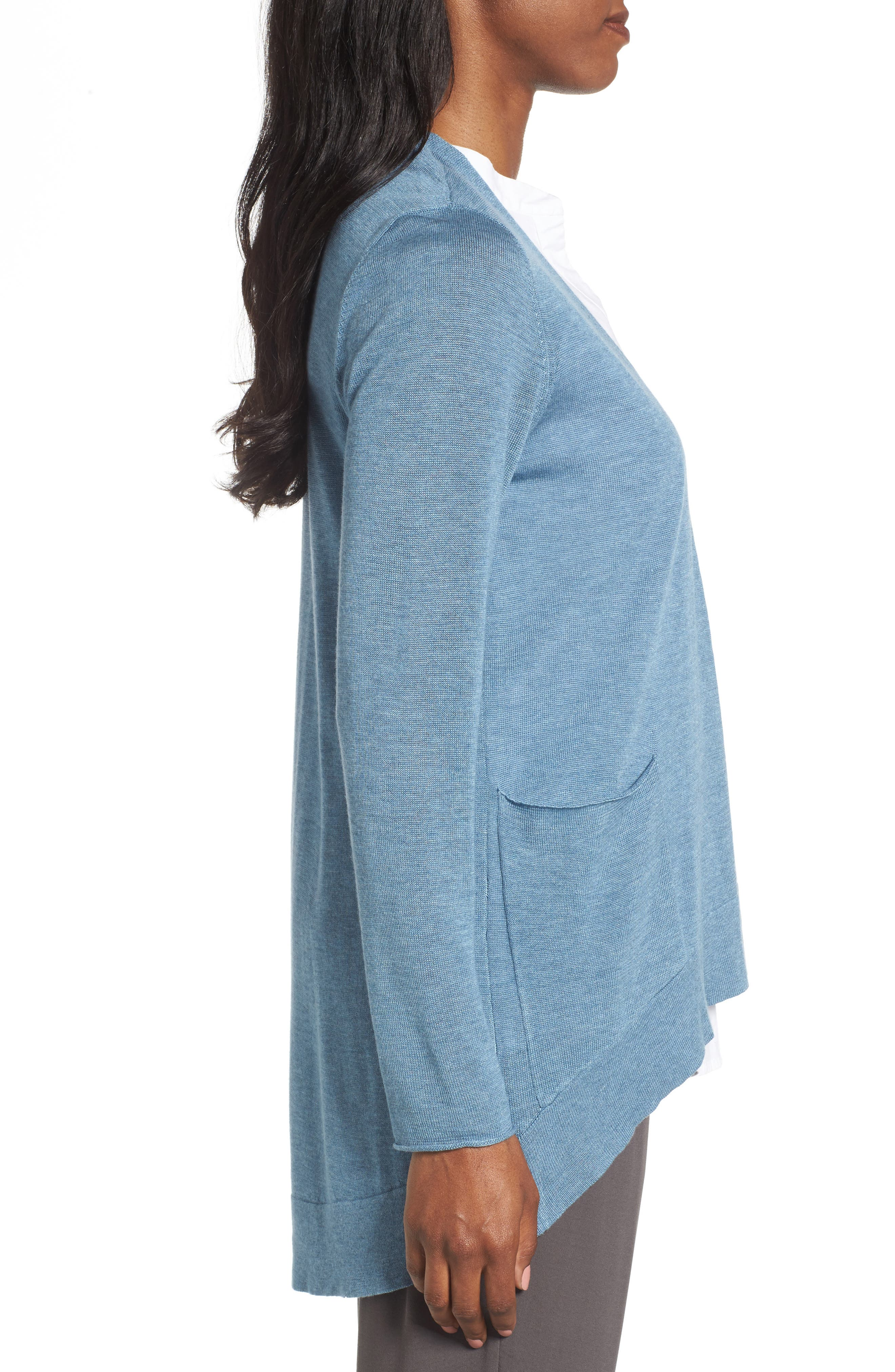 Alternate Image 3  - Eileen Fisher Slouchy Tencel® Blend Cardigan