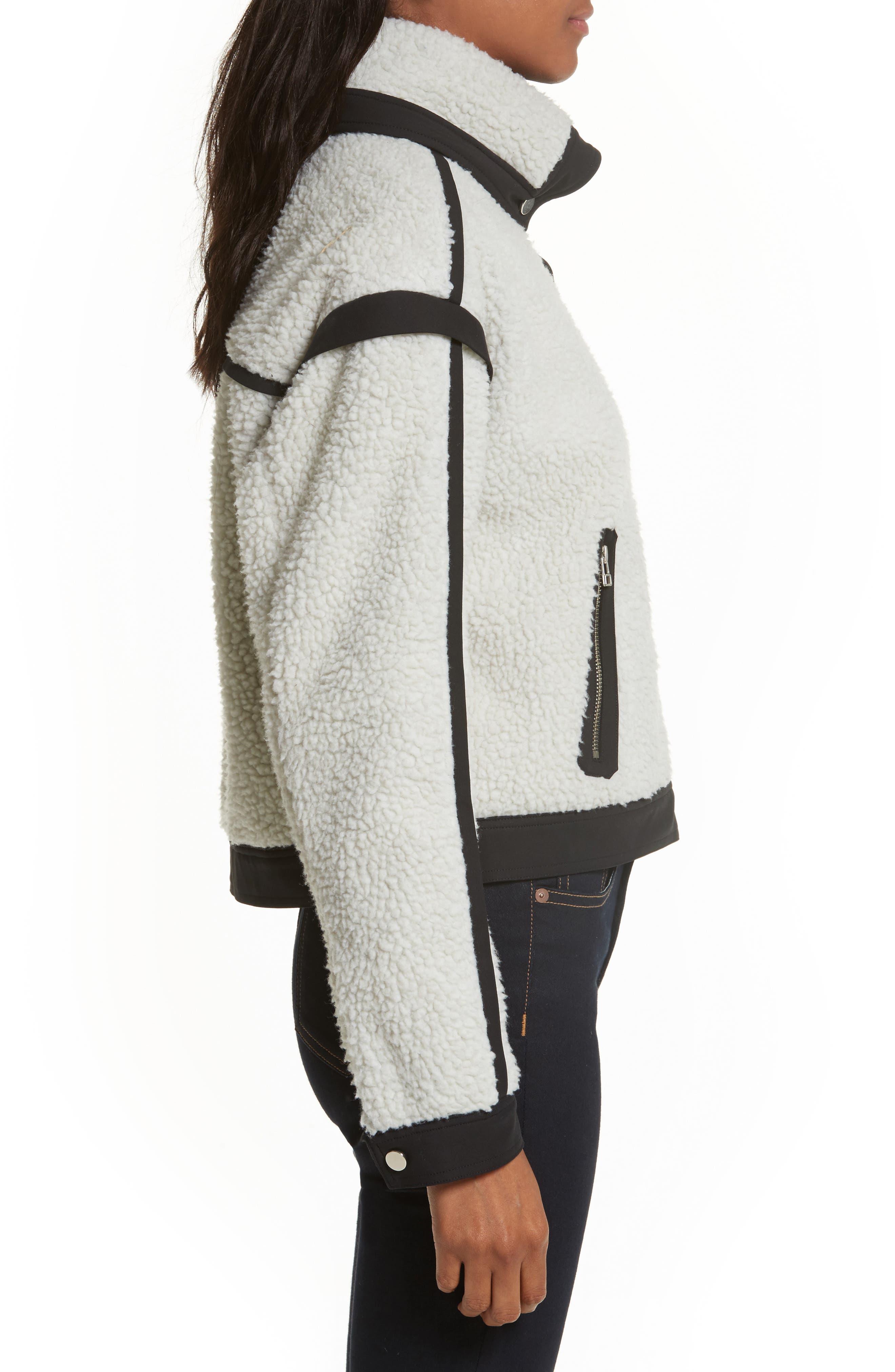 Alternate Image 3  - Veronica Beard Anita Fleece Jacket