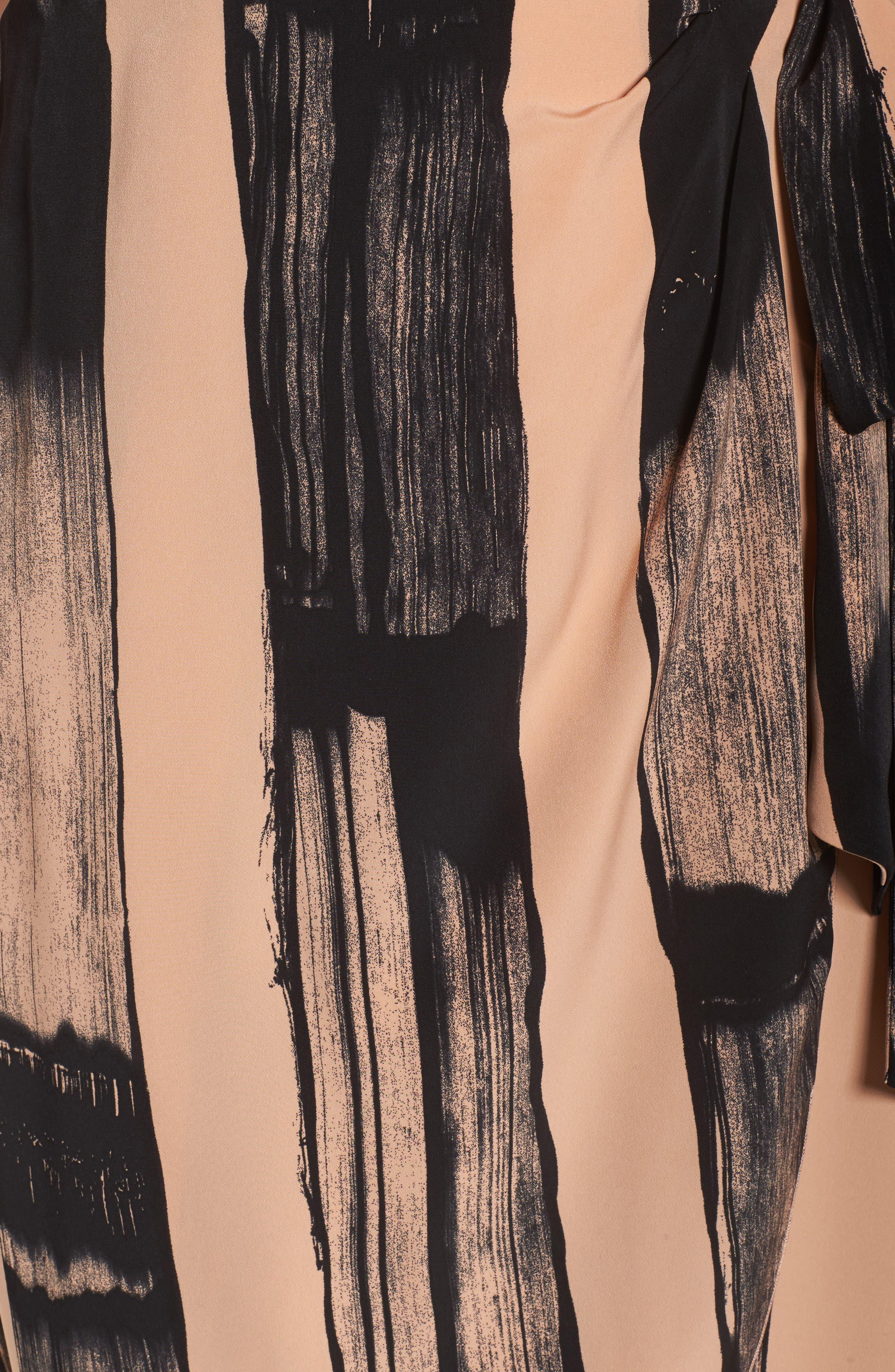 Alternate Image 5  - Melissa McCarthy Seven7 Print Wrap Dress (Plus Size)