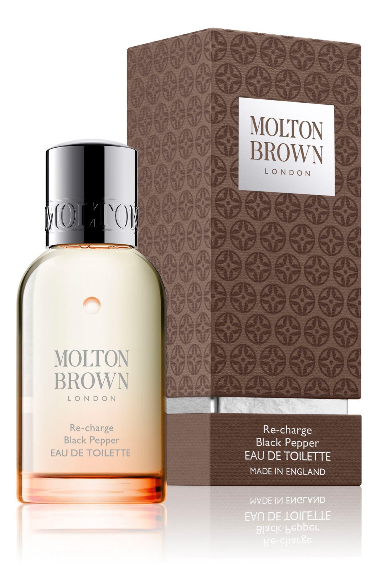 Alternate Image 2  - MOLTON BROWN London Re-charge Black Pepper Eau de Toilette Spray