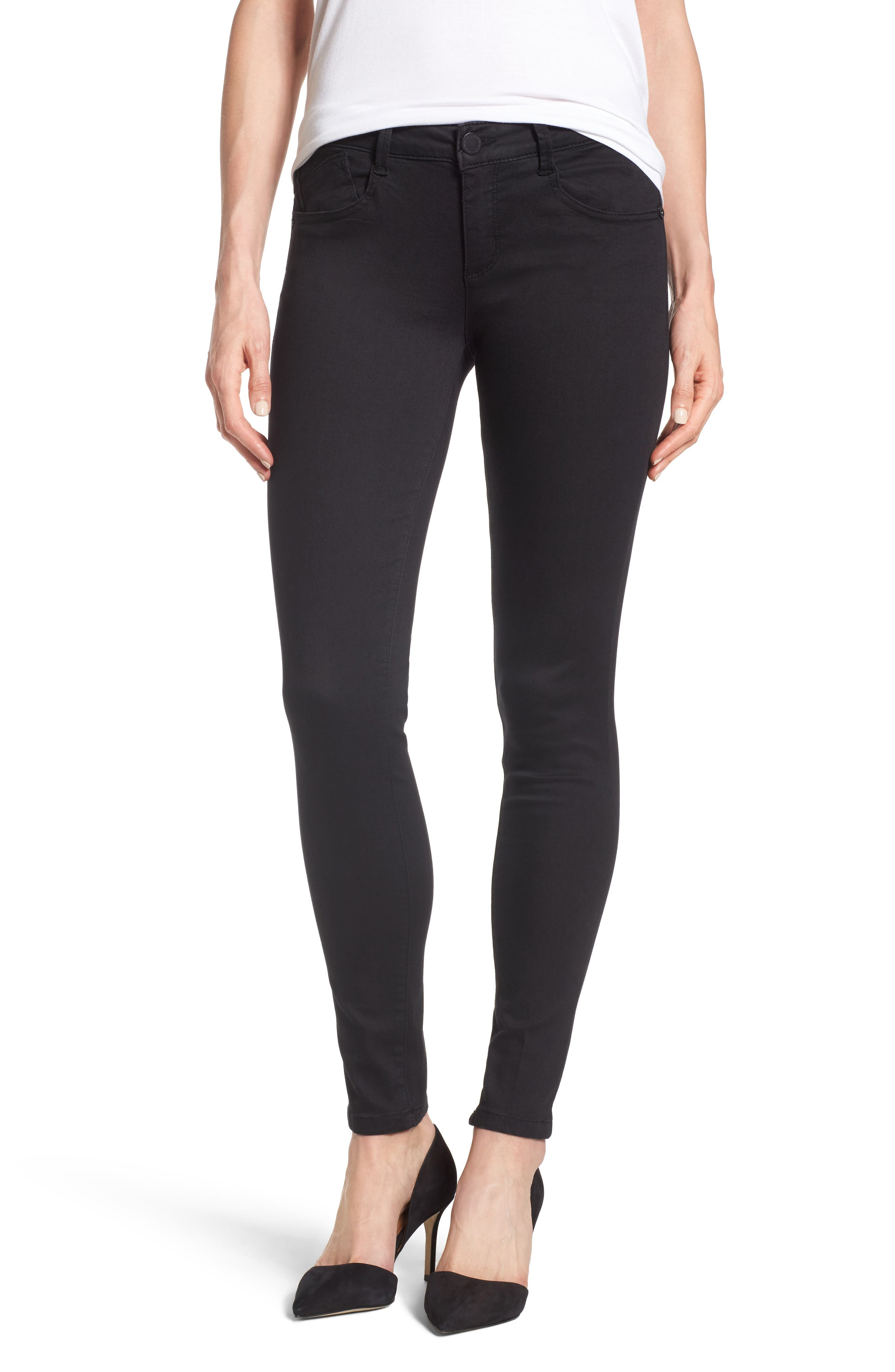 Alternate Image 1 Selected - Wit & Wisdom Skinny Jeans (Nordstrom Exclusive) (Regular & Petite)