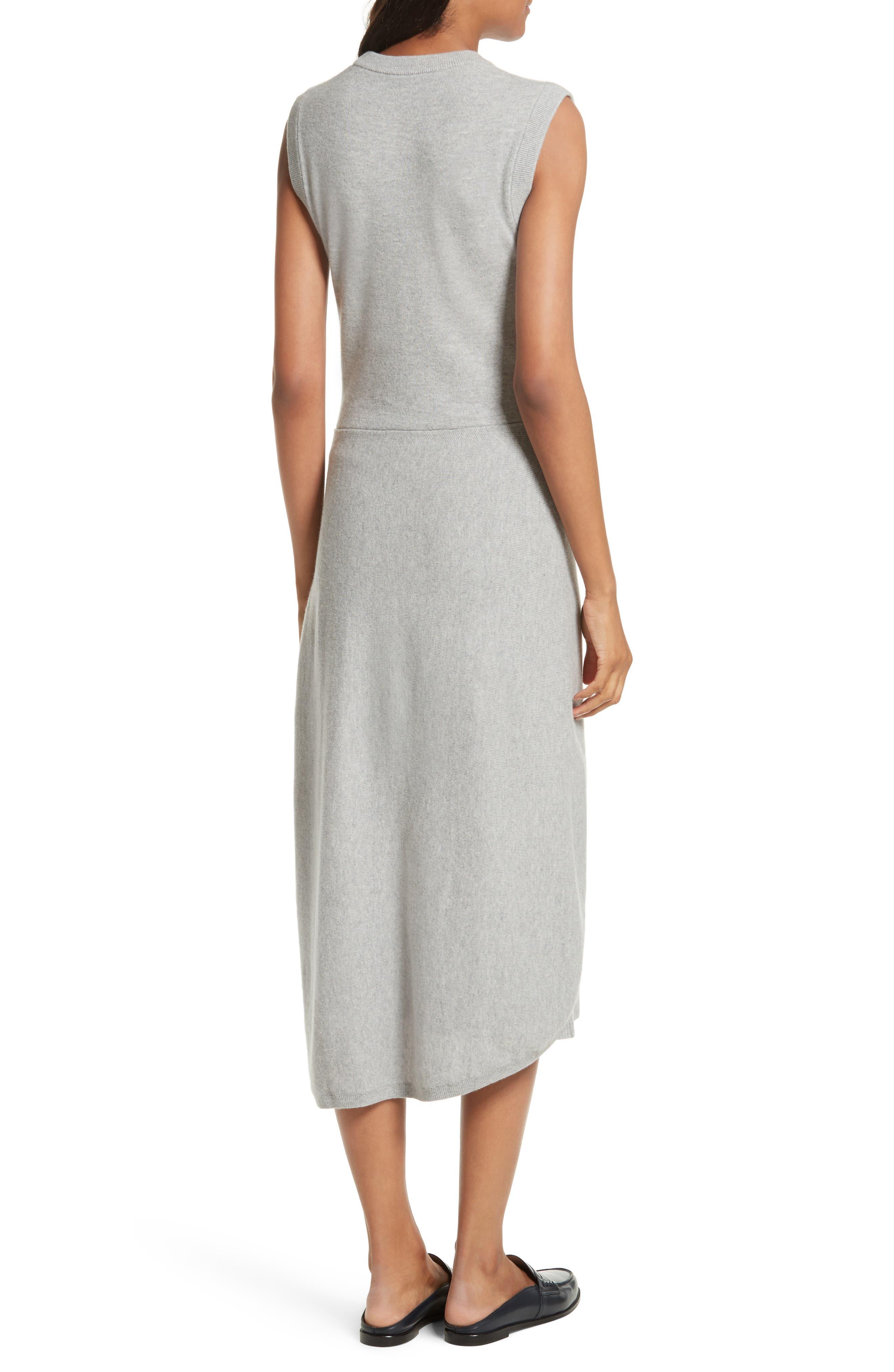 Alternate Image 2  - Joseph Tie Front Wool Sweater Dress