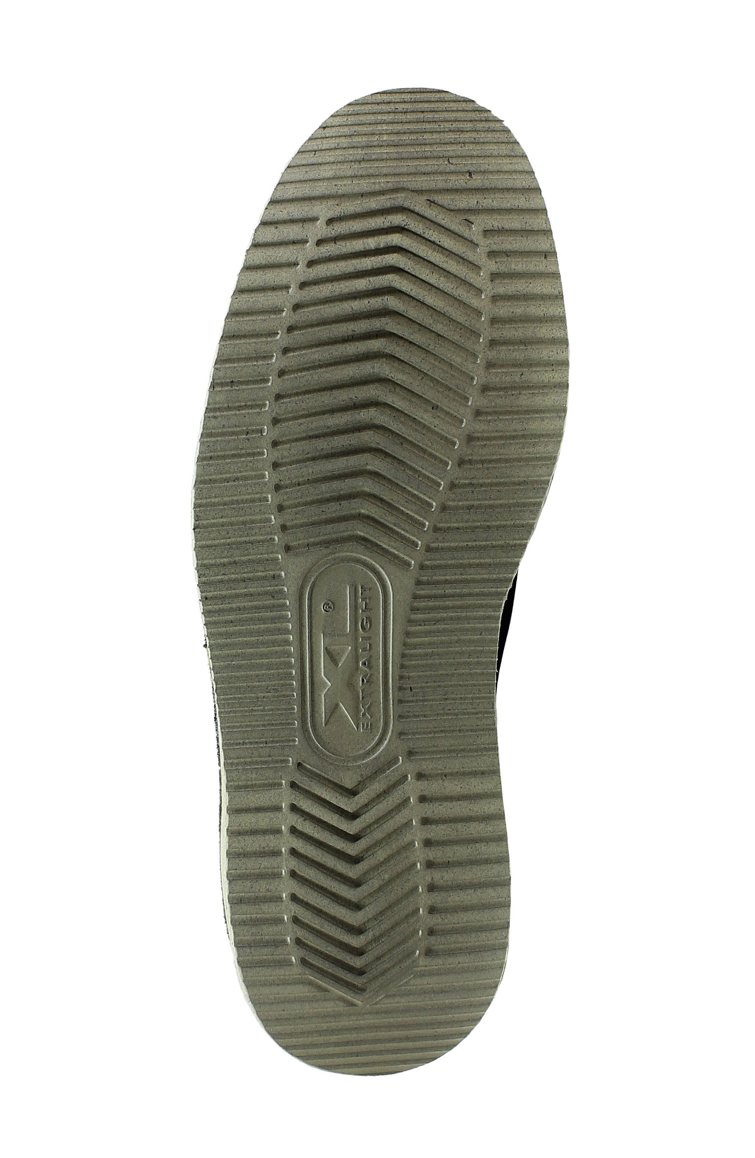 Navigator Plain Toe Oxford,                             Alternate thumbnail 6, color,                             Cocoa Nubuck Leather
