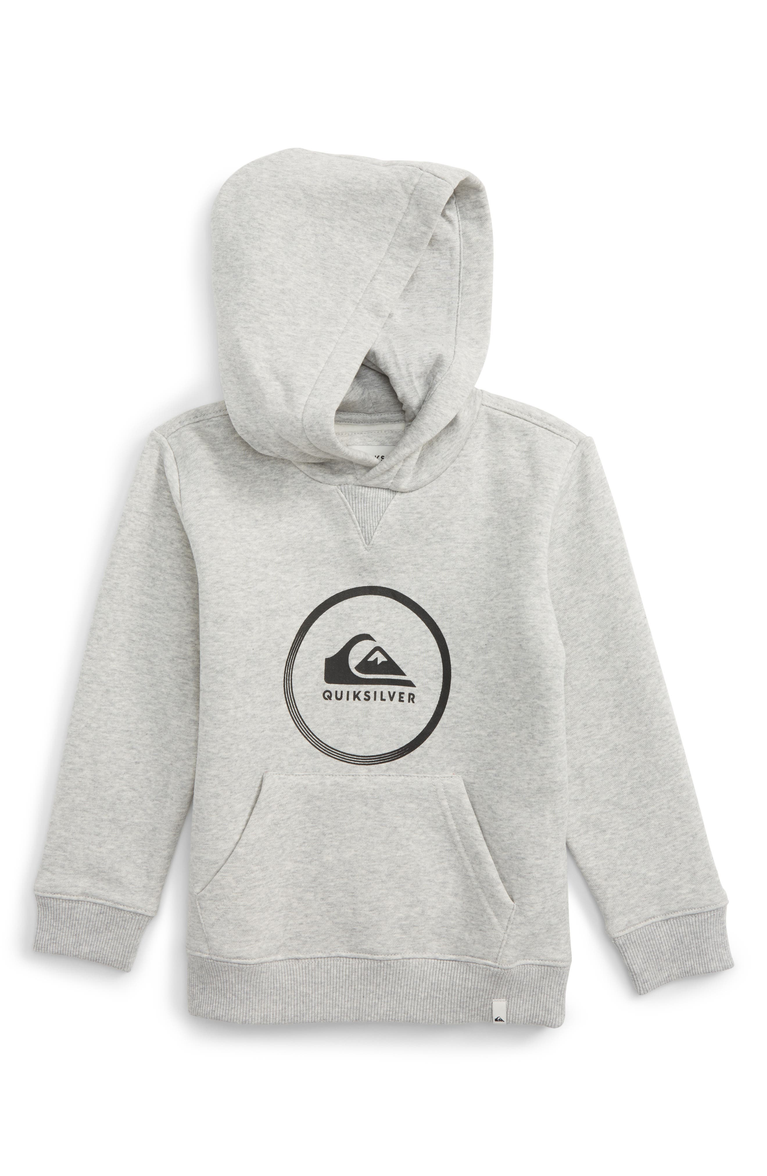 Quiksilver Logo Hoodie (Toddler Boys & Little Boys)