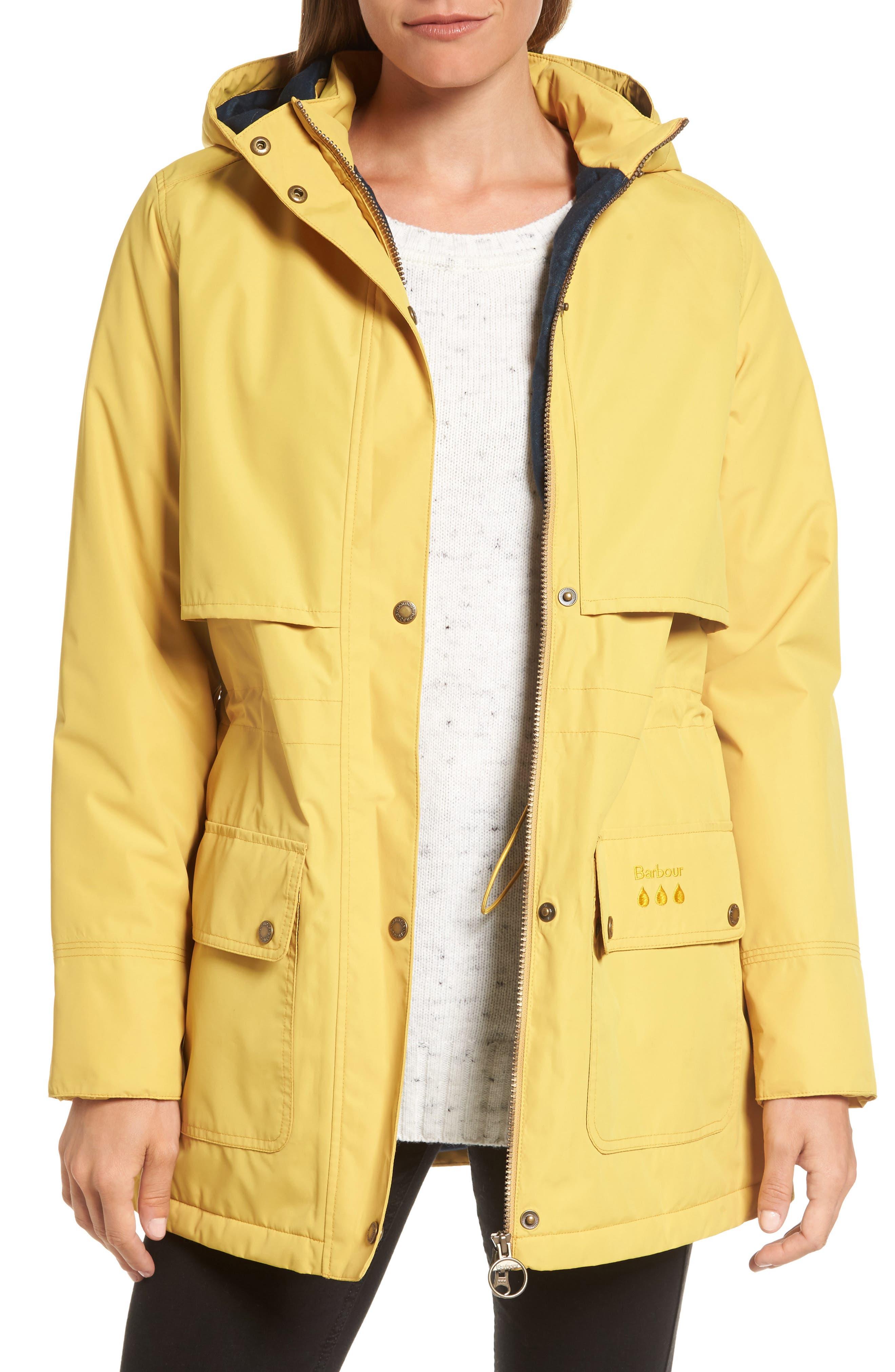 Barbour Stratus Hooded Waterproof Jacket
