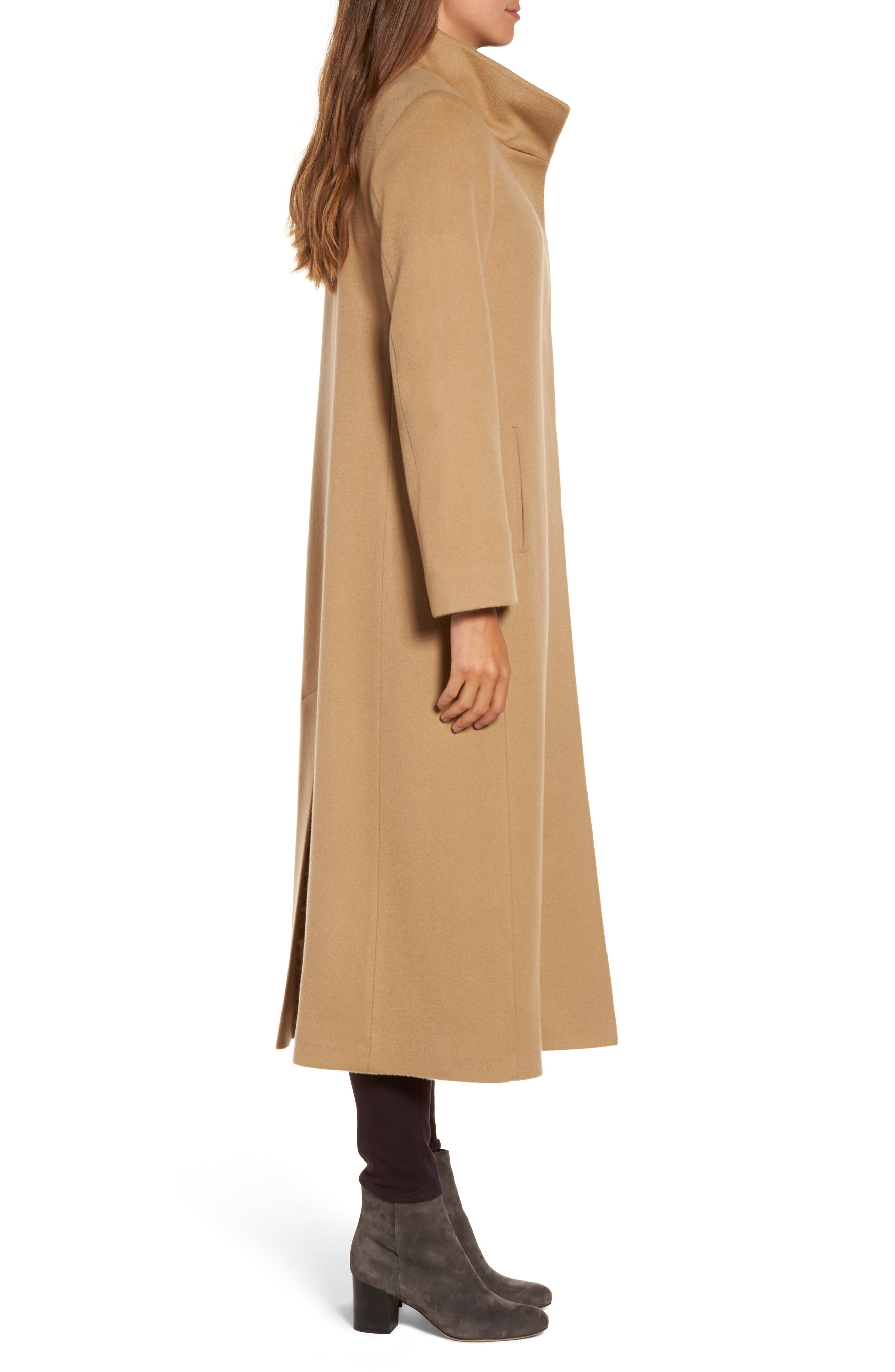 Alternate Image 3  - Fleurette Cashmere Long Coat