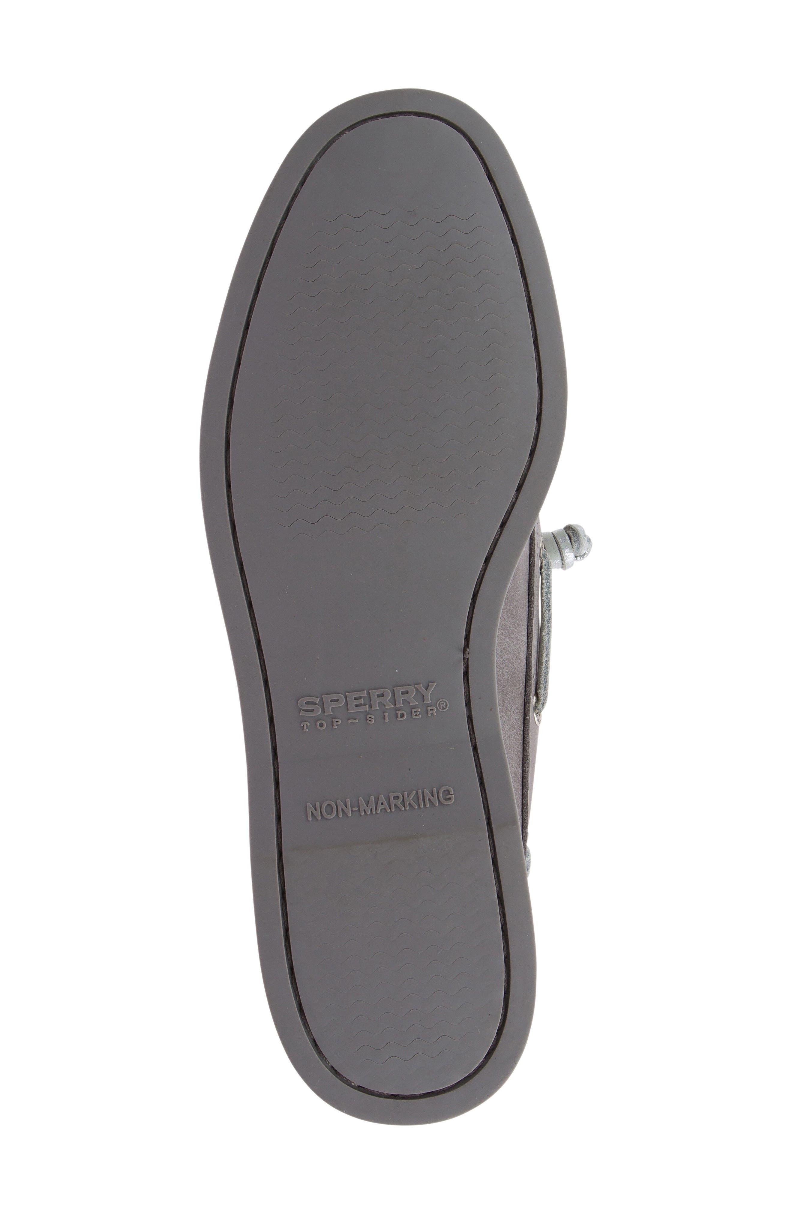 Vida Boat Shoe,                             Alternate thumbnail 5, color,                             Driftwood Leather