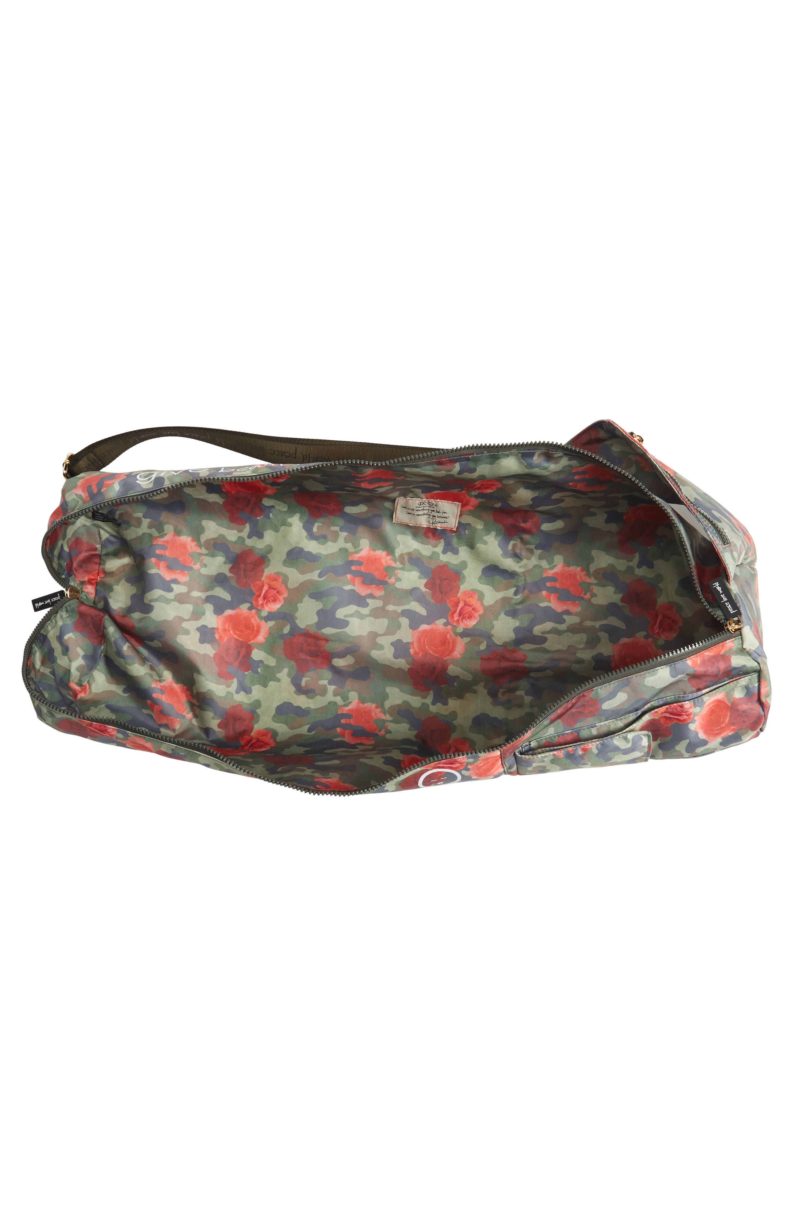 Alternate Image 3  - Peace Love World Nylon Yoga Bag