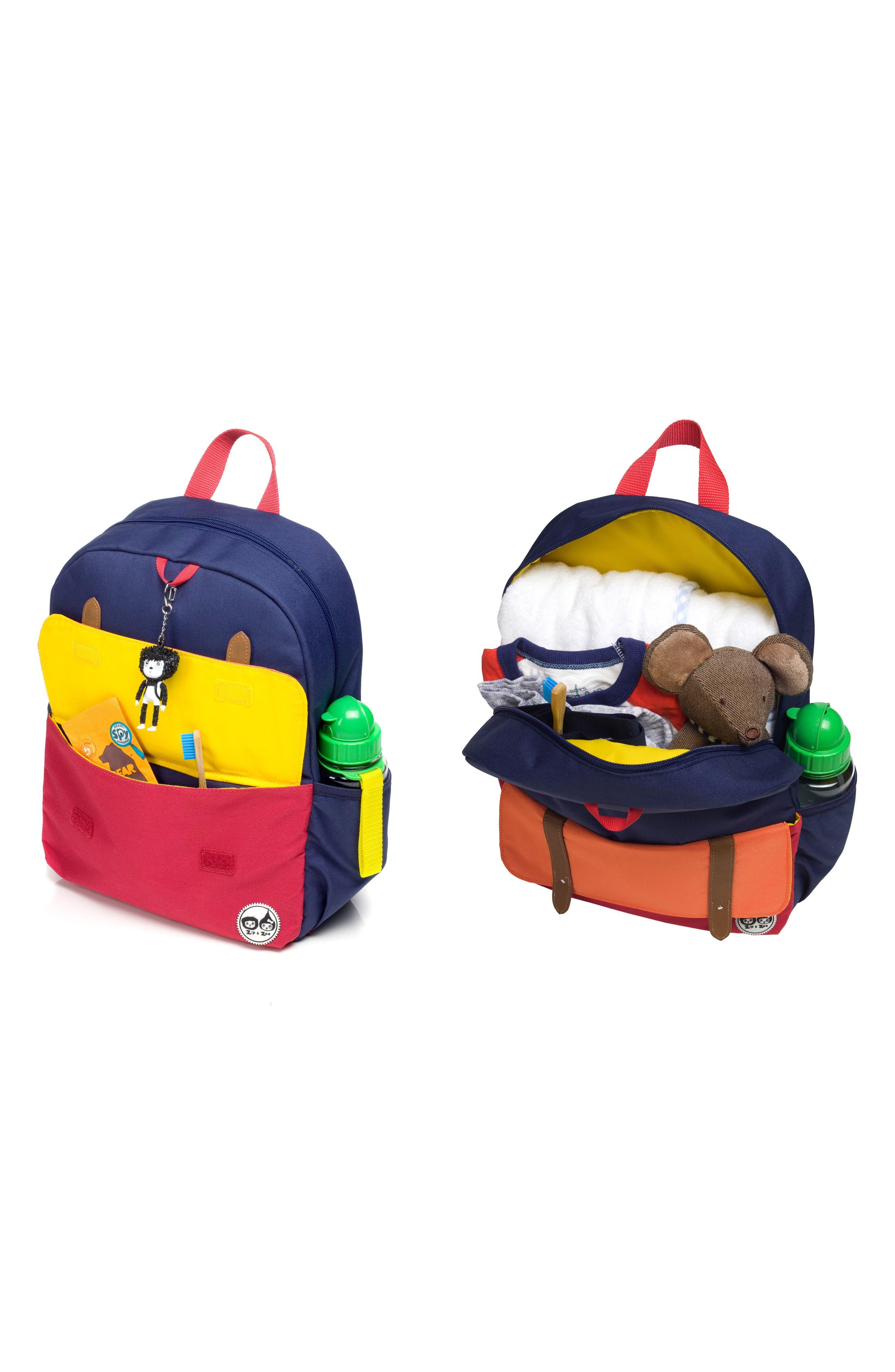 Alternate Image 5  - Babymel Zip & Zoe Junior Backpack Set