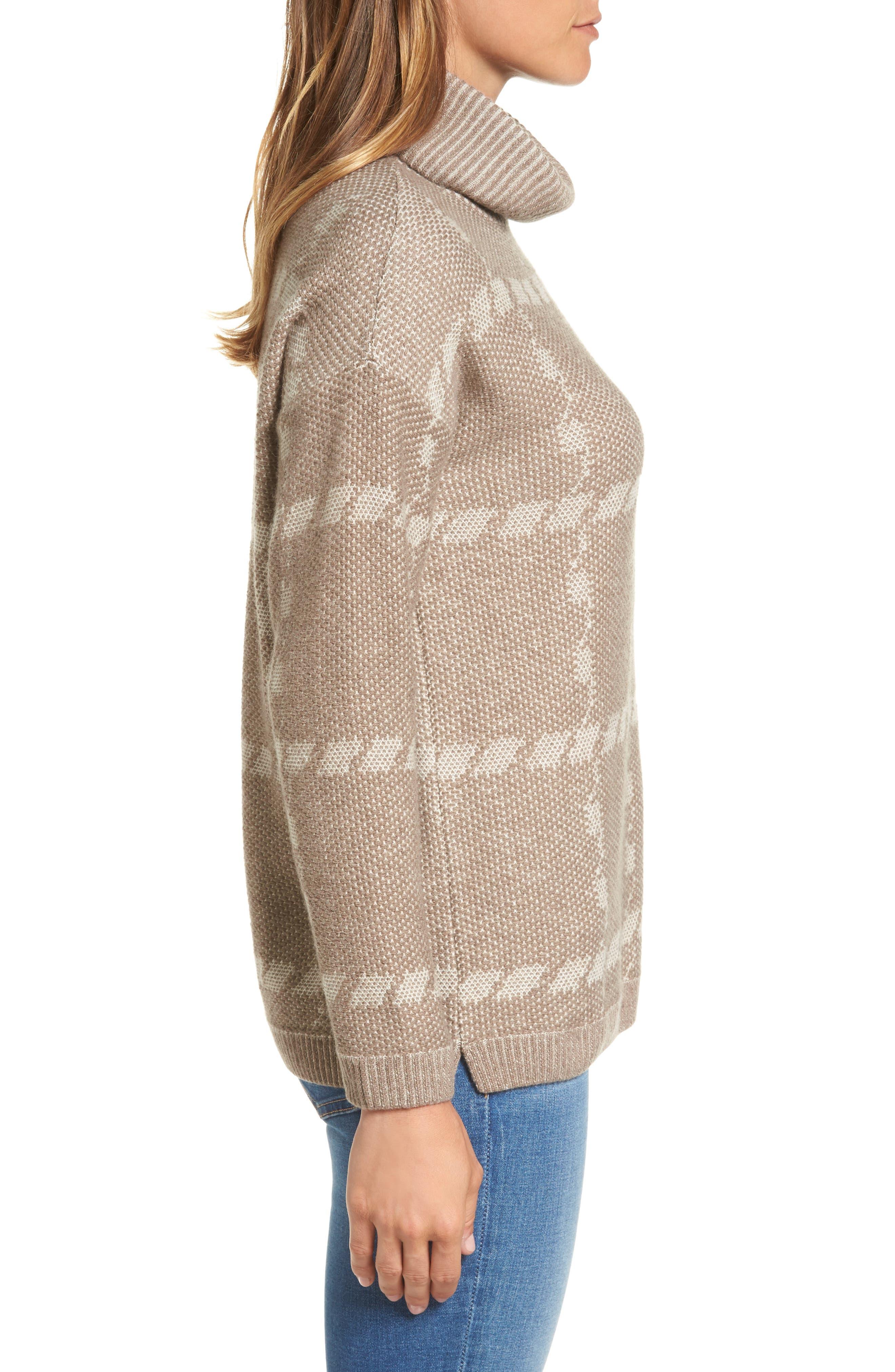 Alternate Image 3  - Barbour Glen Knit Merino Wool Blend Turtleneck Sweater