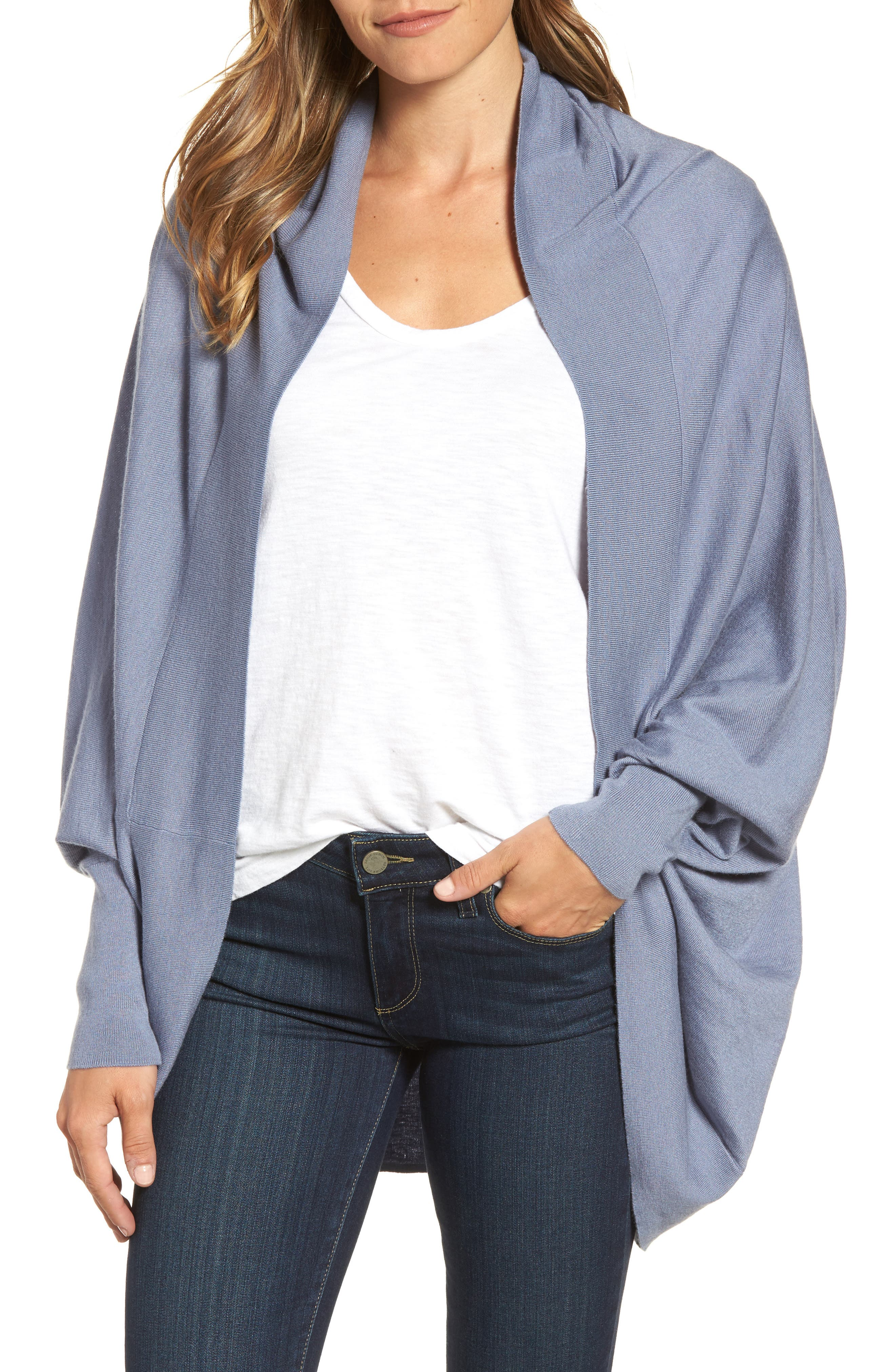 Main Image - Nordstrom Knit Cocoon Cardigan