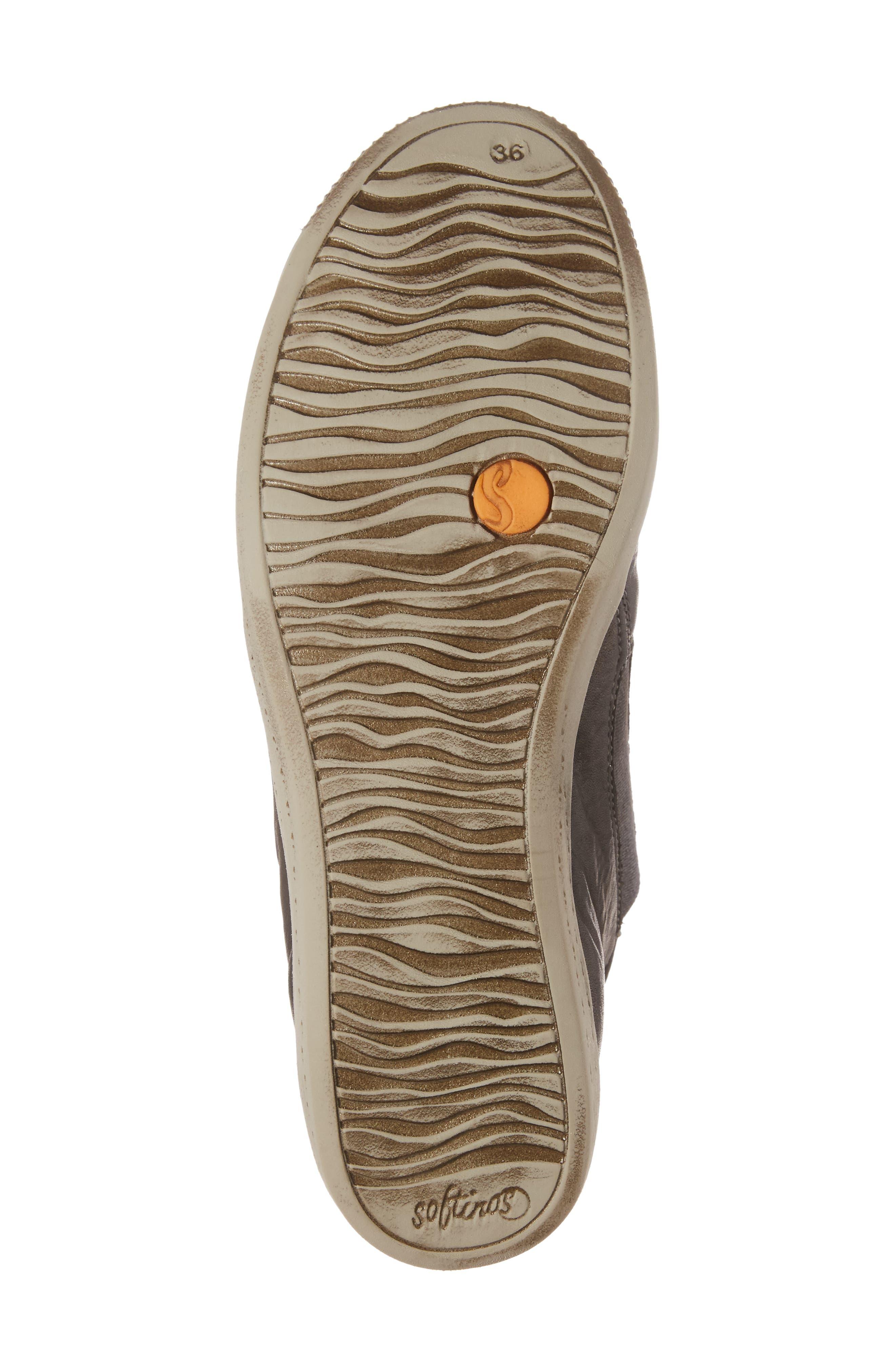 Inge Slip-On Sneaker,                             Alternate thumbnail 6, color,                             Military Leather
