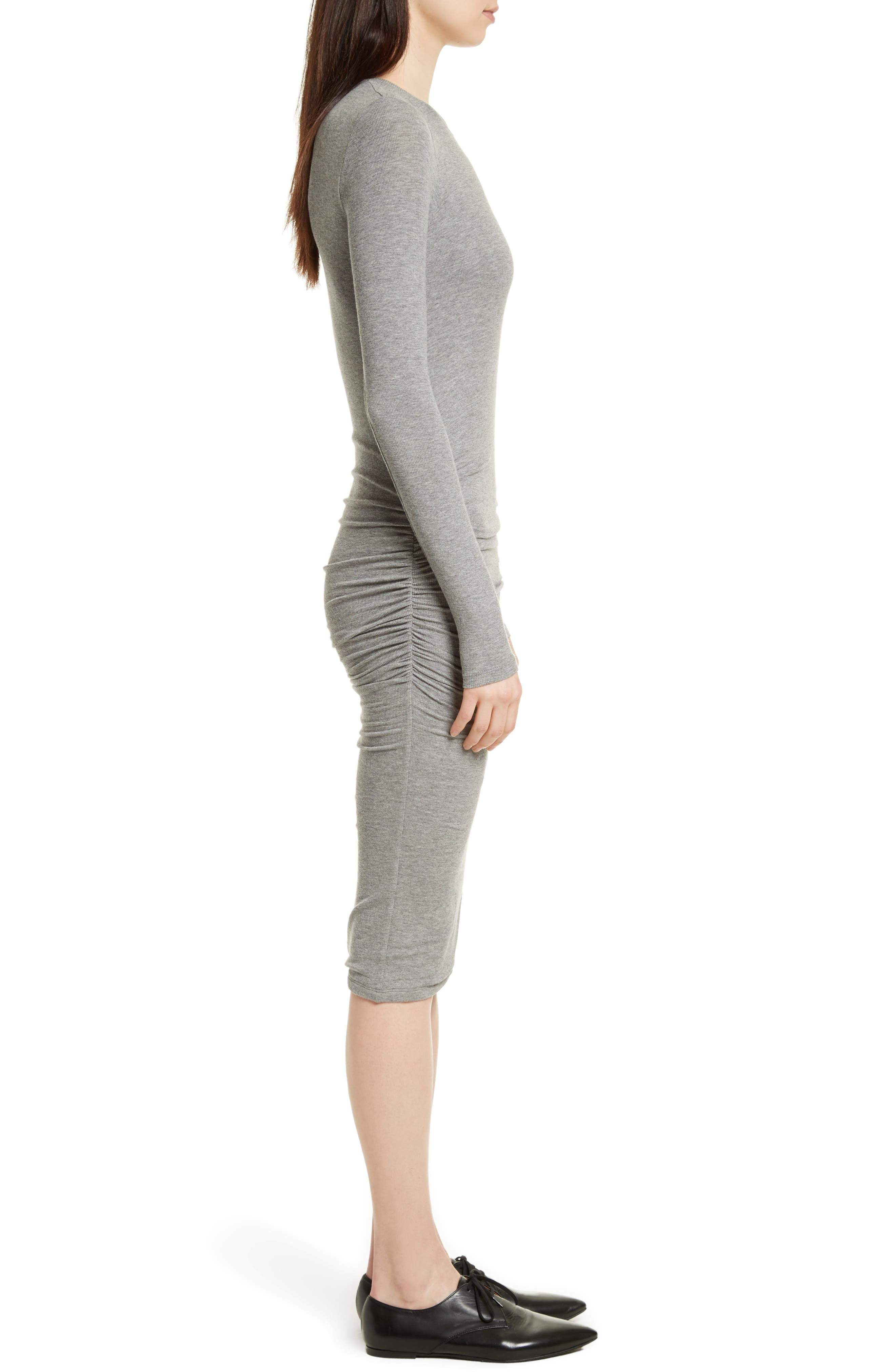 Alternate Image 3  - ATM Anthony Thomas Melillo Ribbed Stretch Jersey Dress