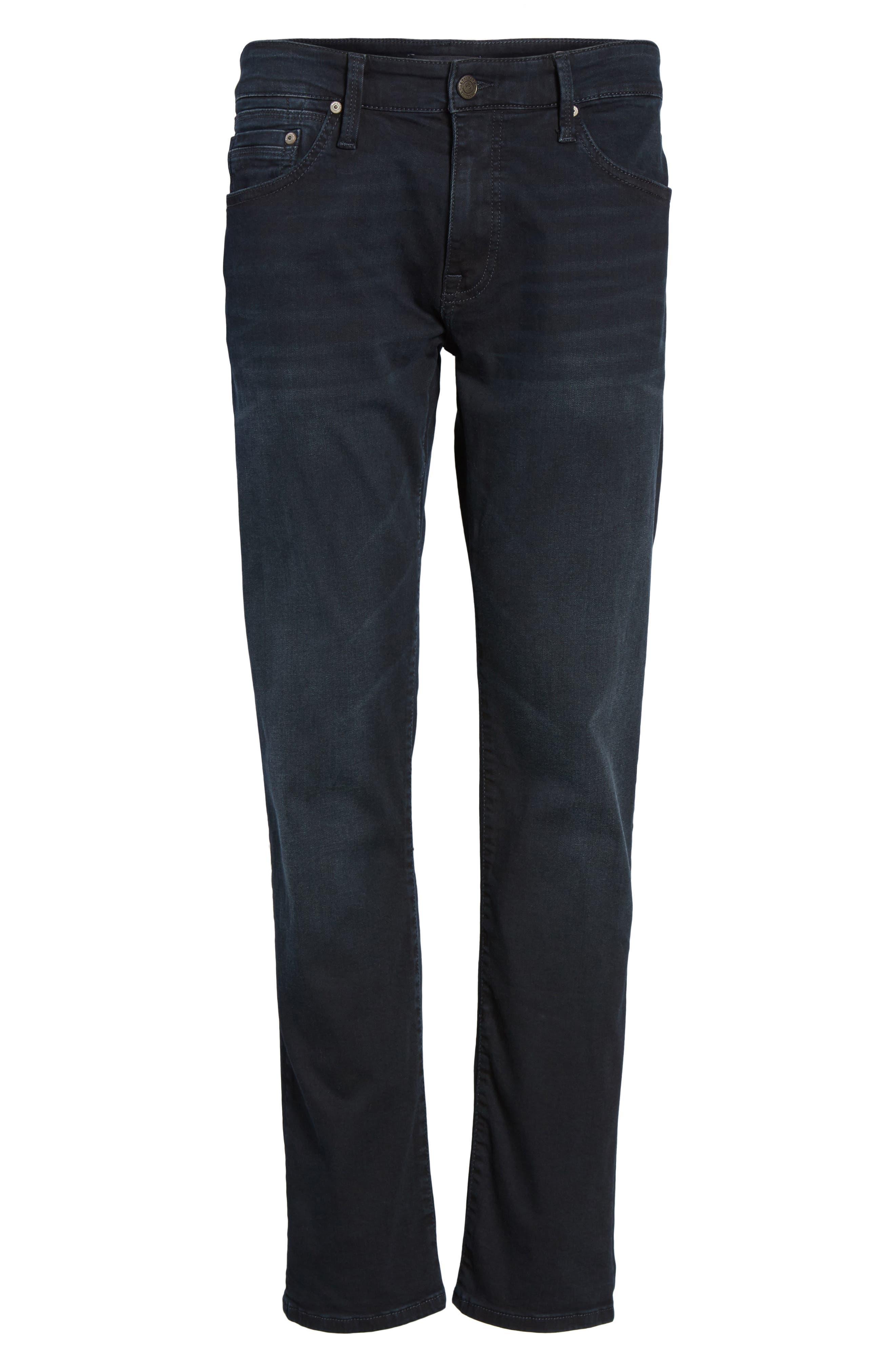 Alternate Image 6  - Mavi Jeans Zach Straight Leg Jeans (Brushed Williamsburg)