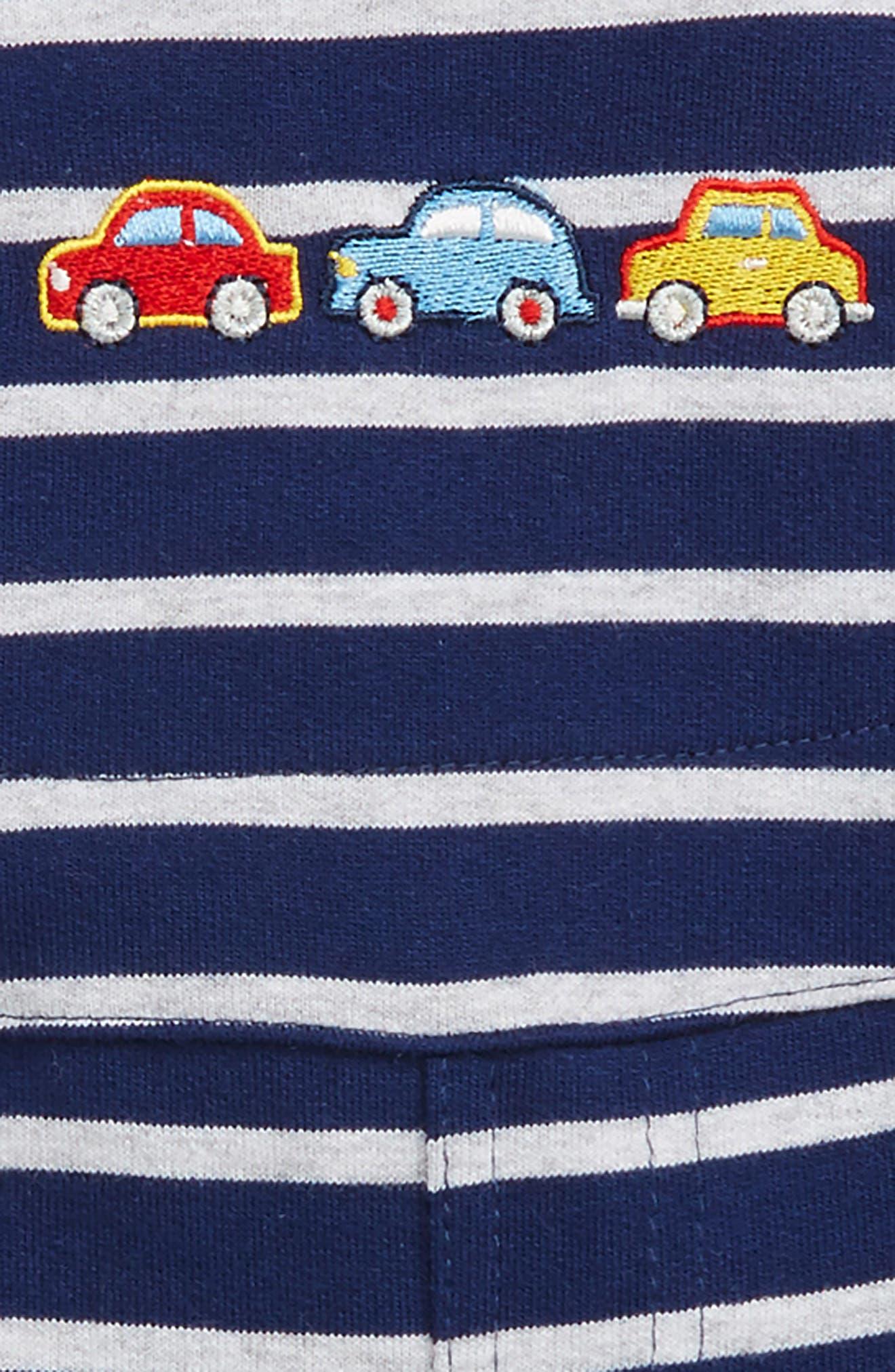 Alternate Image 2  - Little Me Car T-Shirt & Overalls Set (Baby Boys)