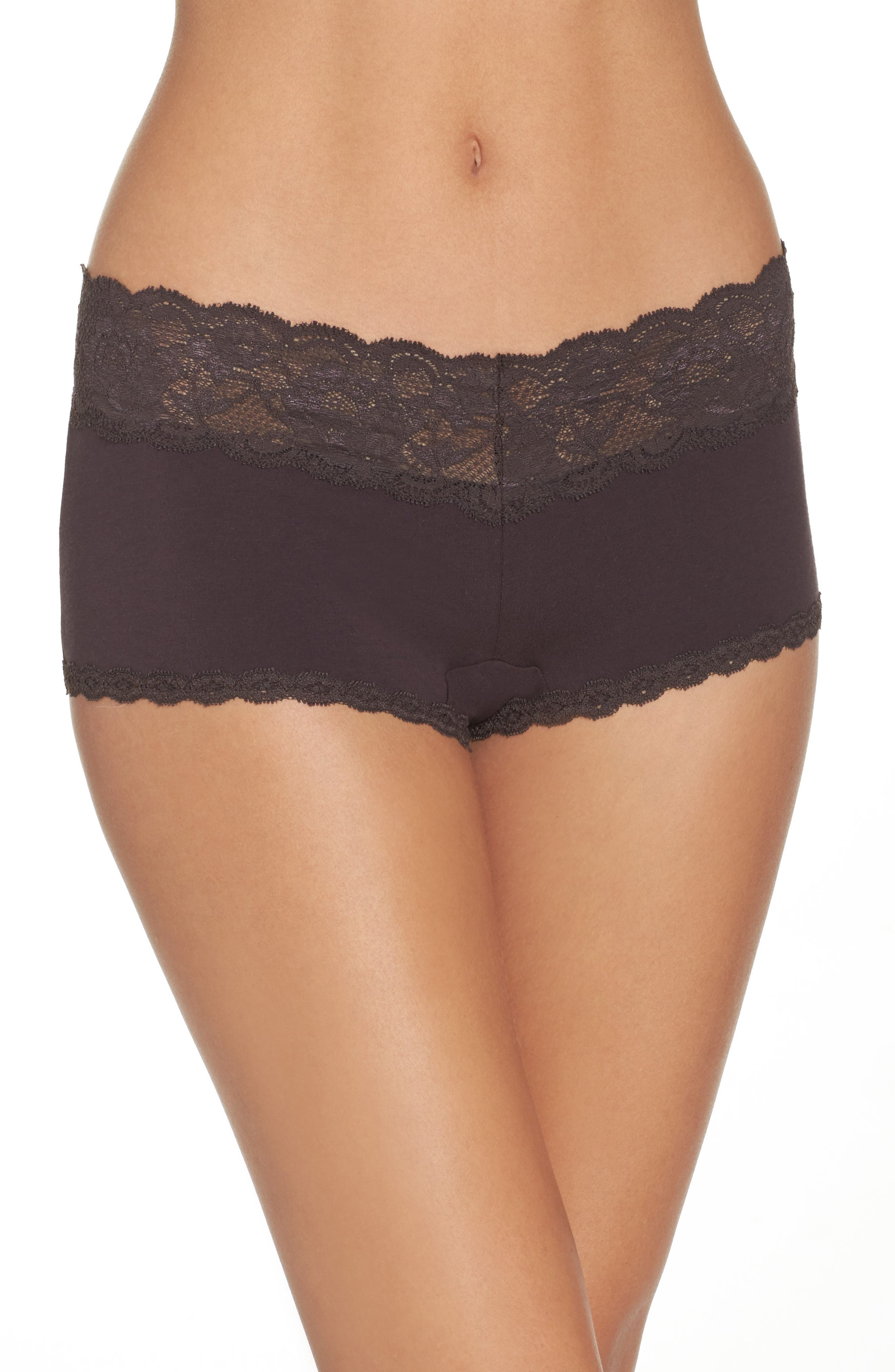 Cosabella 'Never Say Never' Low Rise Boyshorts (Plus Size)
