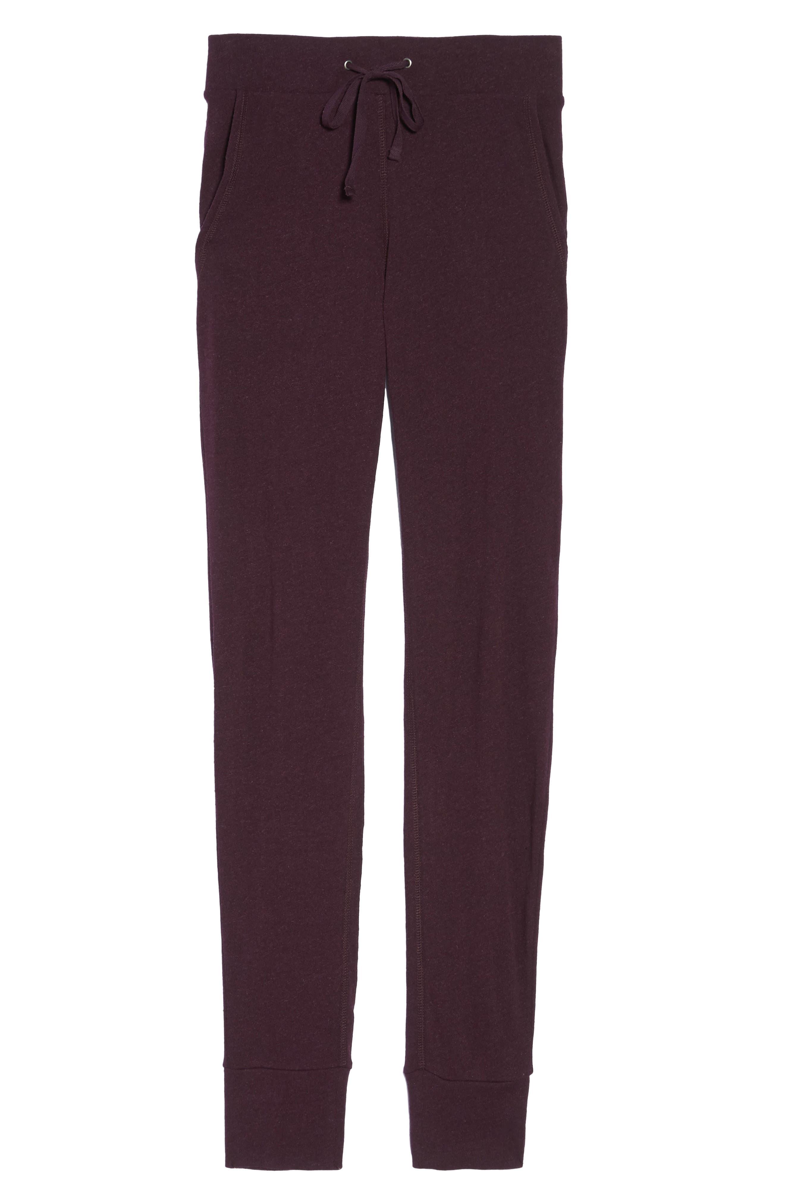 Alternate Image 5  - UGG® Clementine Cotton & Silk Pajama Pants