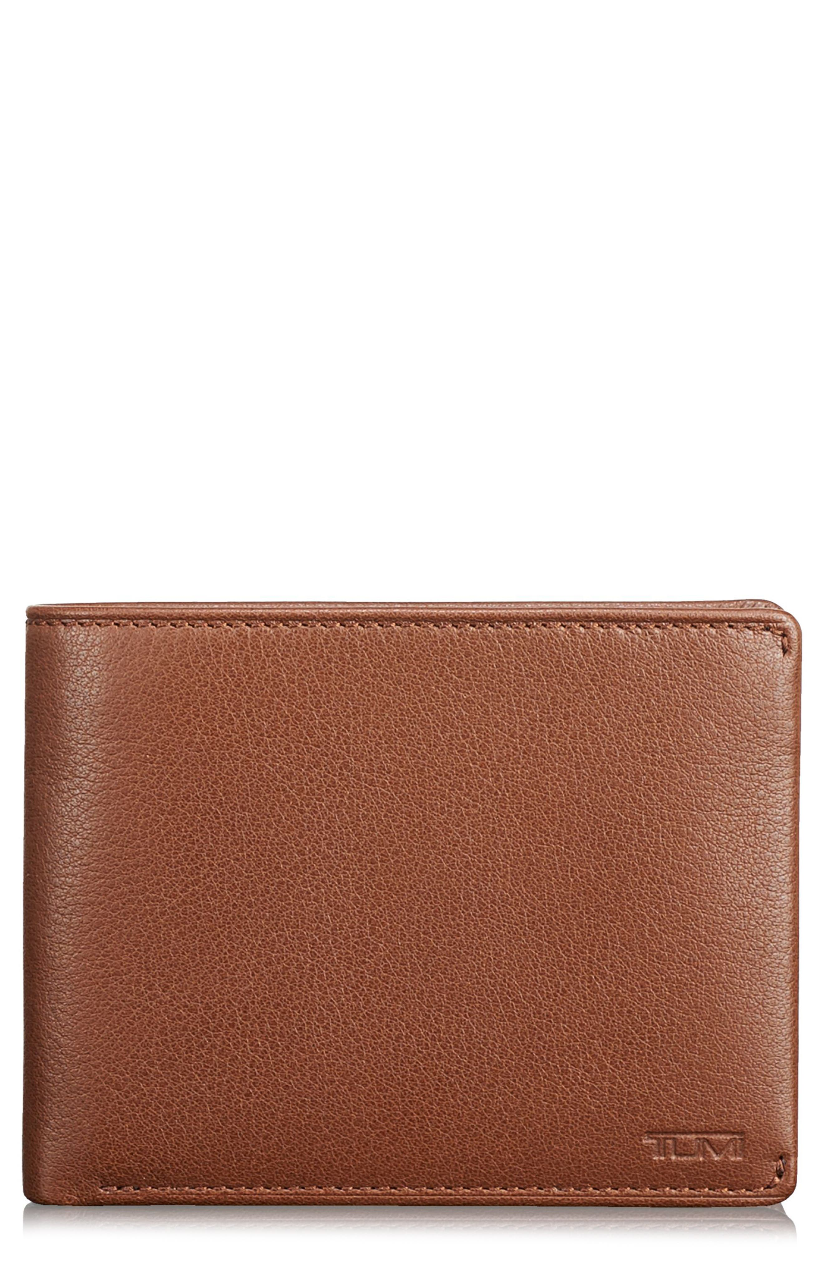 TUMI Global Leather RFID Wallet