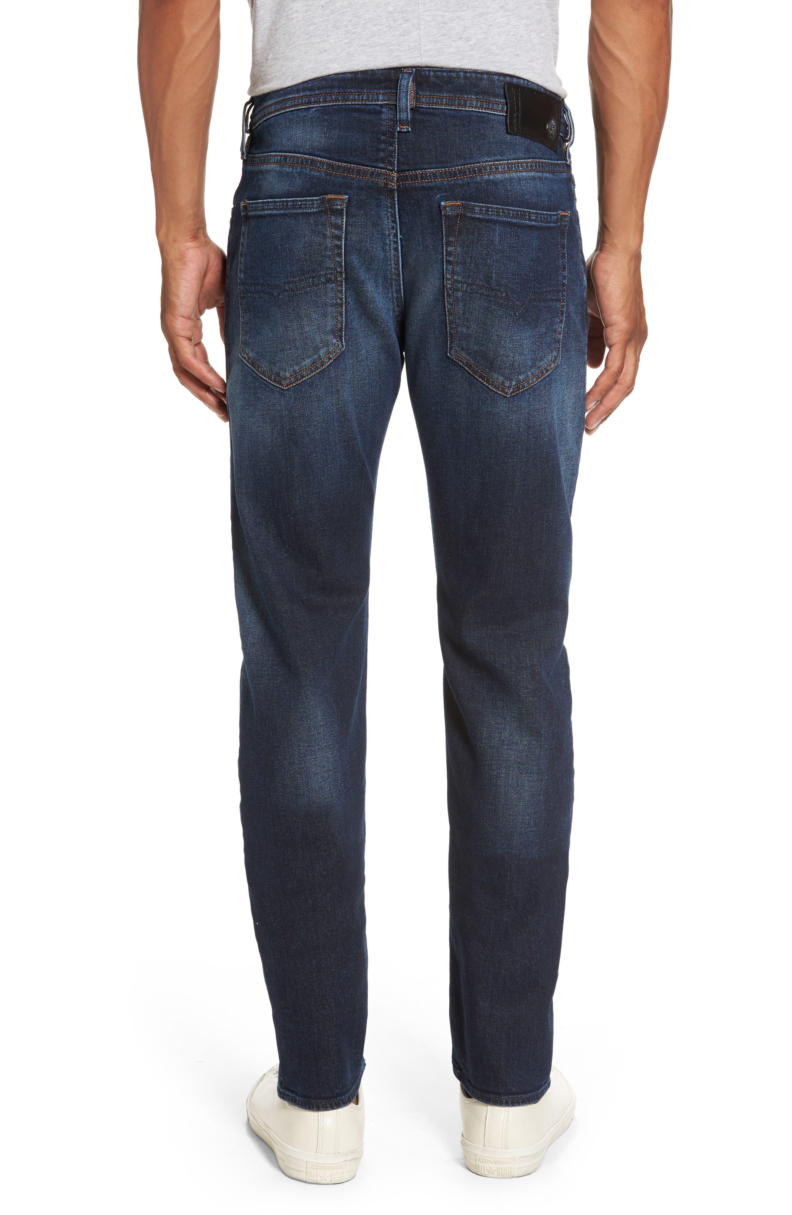 Buster Slim Straight Leg Jeans,                             Alternate thumbnail 2, color,                             Denim