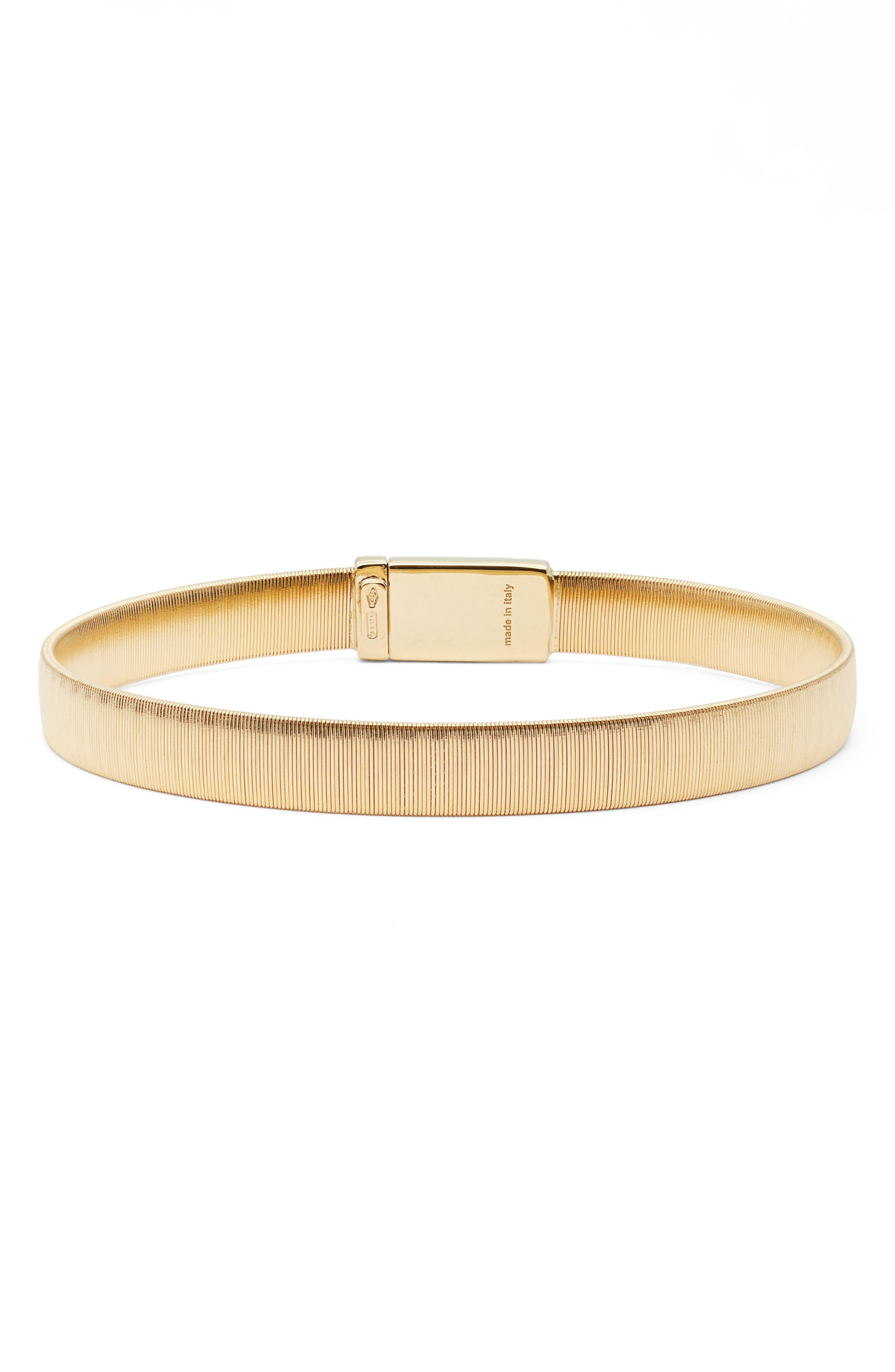 MARCO BICEGO Masai Single Coil Bracelet