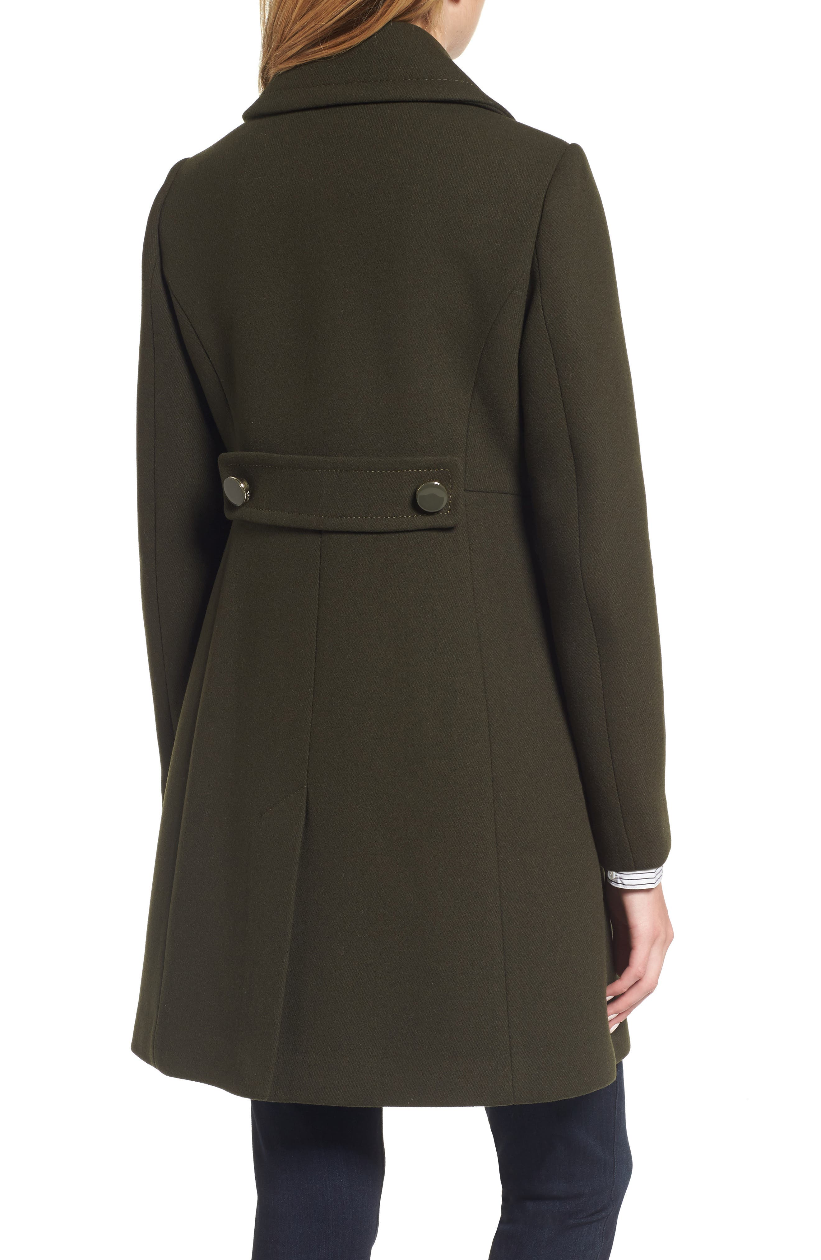 Alternate Image 2  - kate spade new york double breasted coat