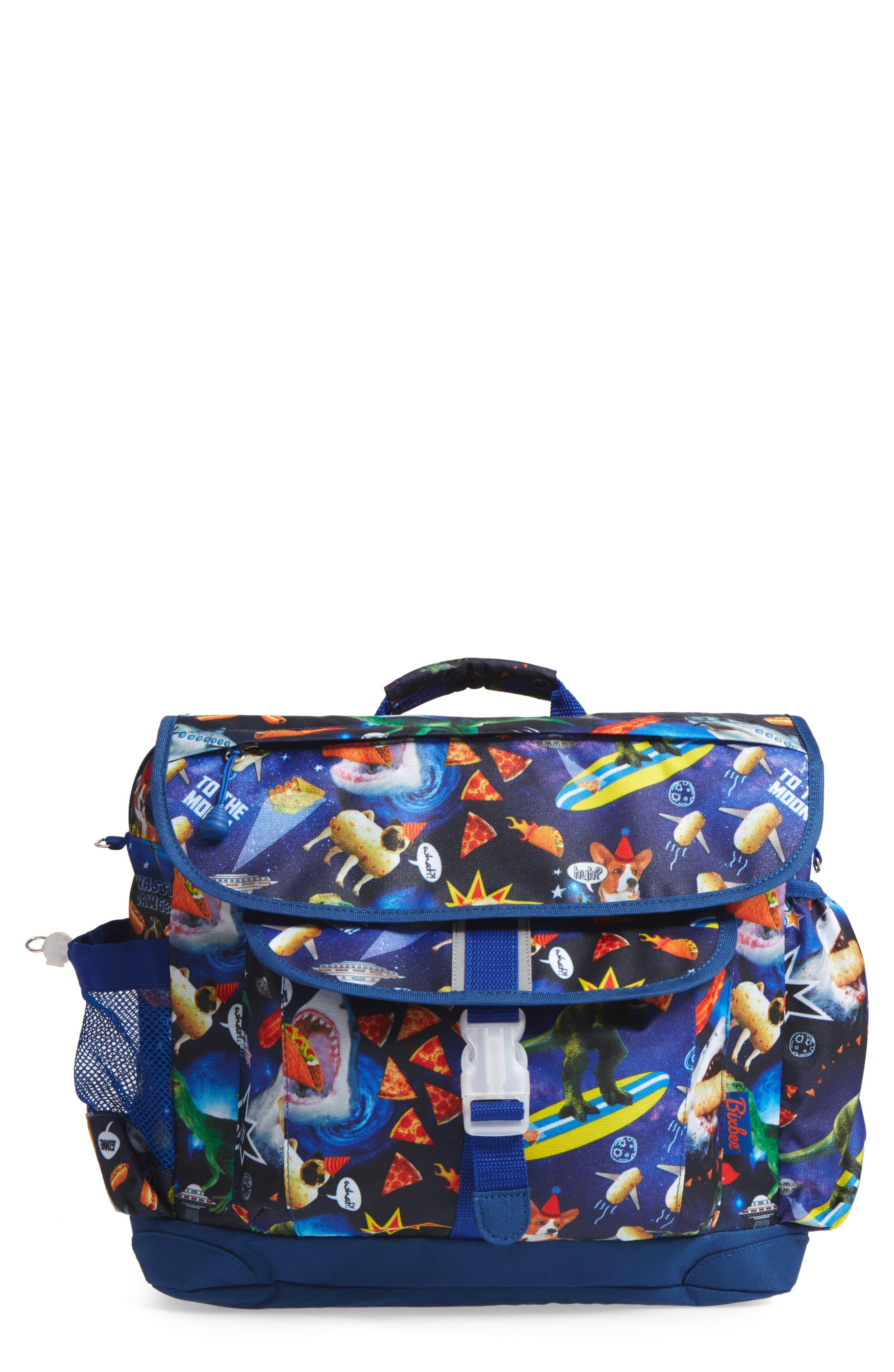 Alternate Image 1 Selected - Bixbee Meme Space Odyssey Backpack (Kids)