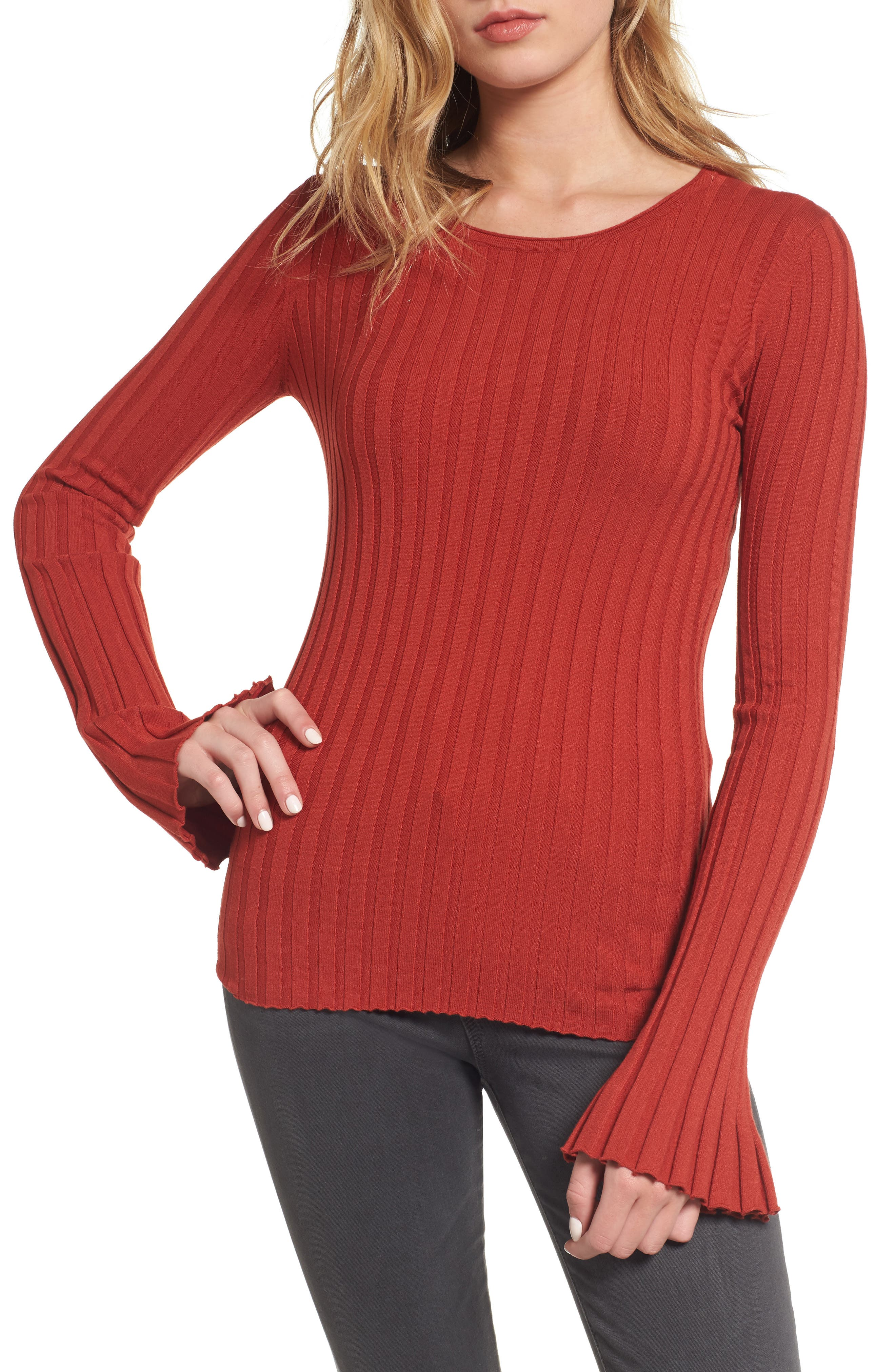 Enchanted Forest Sweater,                         Main,                         color, Spice
