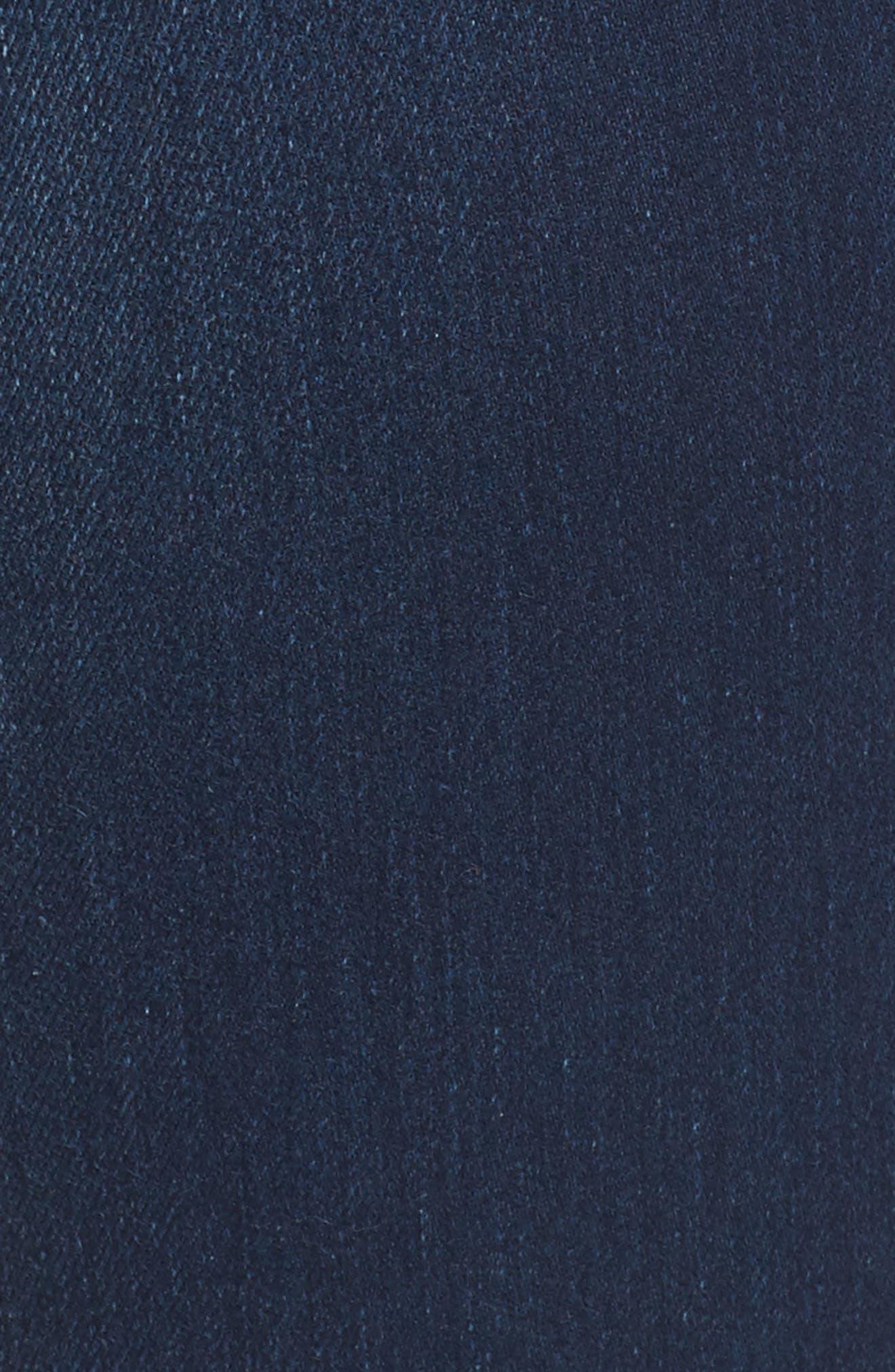 Becca Bootcut Jeans,                             Alternate thumbnail 5, color,                             Lands End Indigo