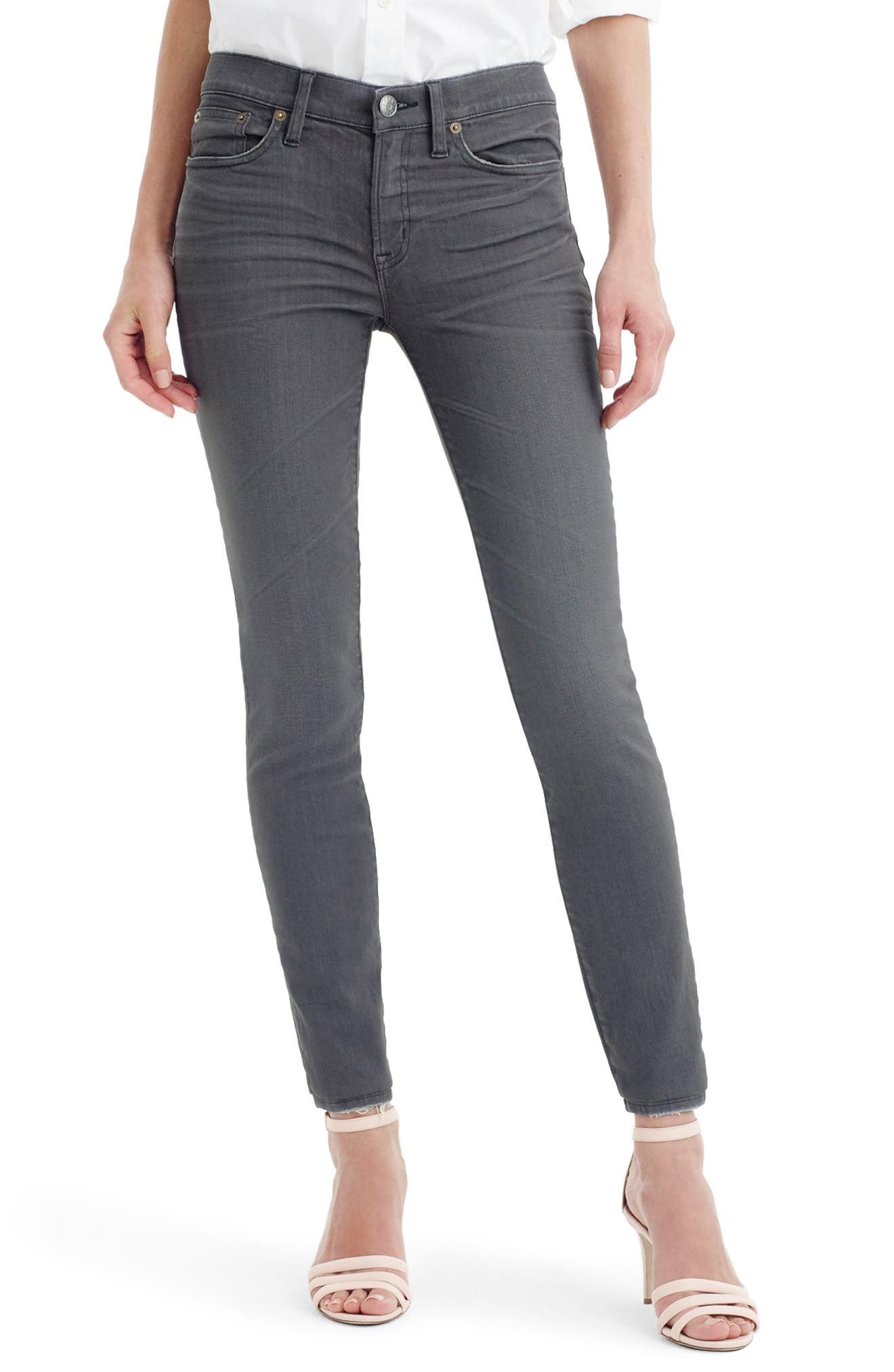 Toothpick Jeans,                             Main thumbnail 1, color,                             Grey Dove
