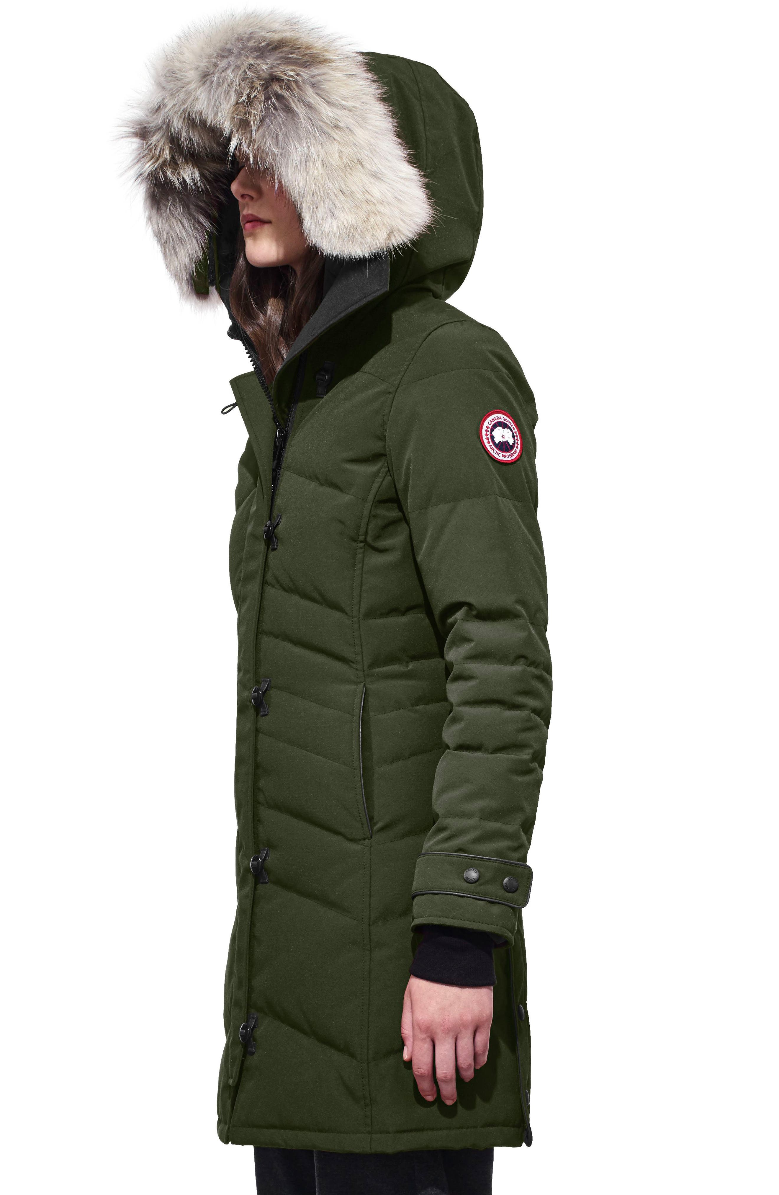 Alternate Image 3  - Canada Goose 'Lorette' Hooded Down Parka with Genuine Coyote Fur Trim