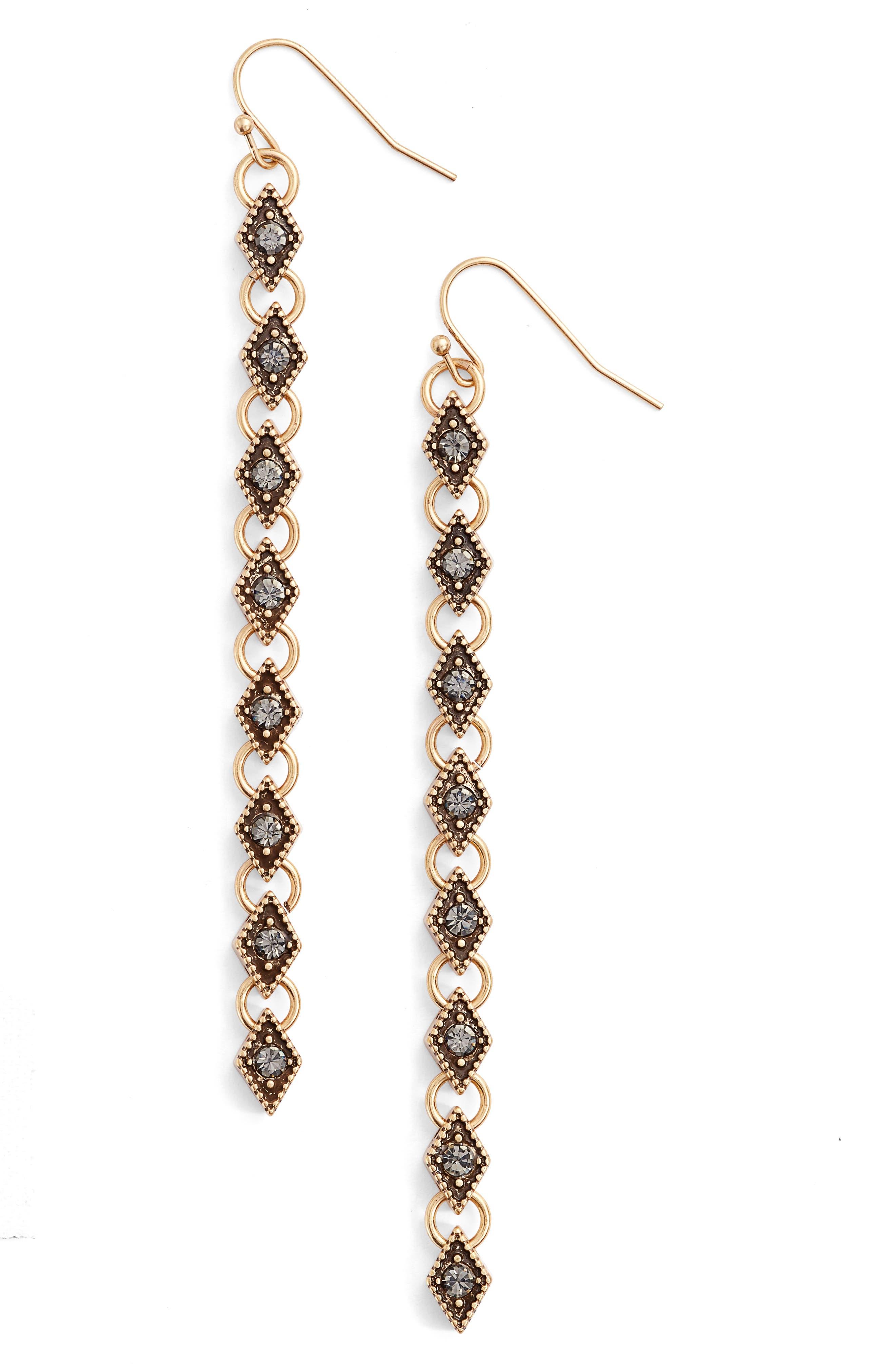 Main Image - Treasure & Bond Link Drop Earrings