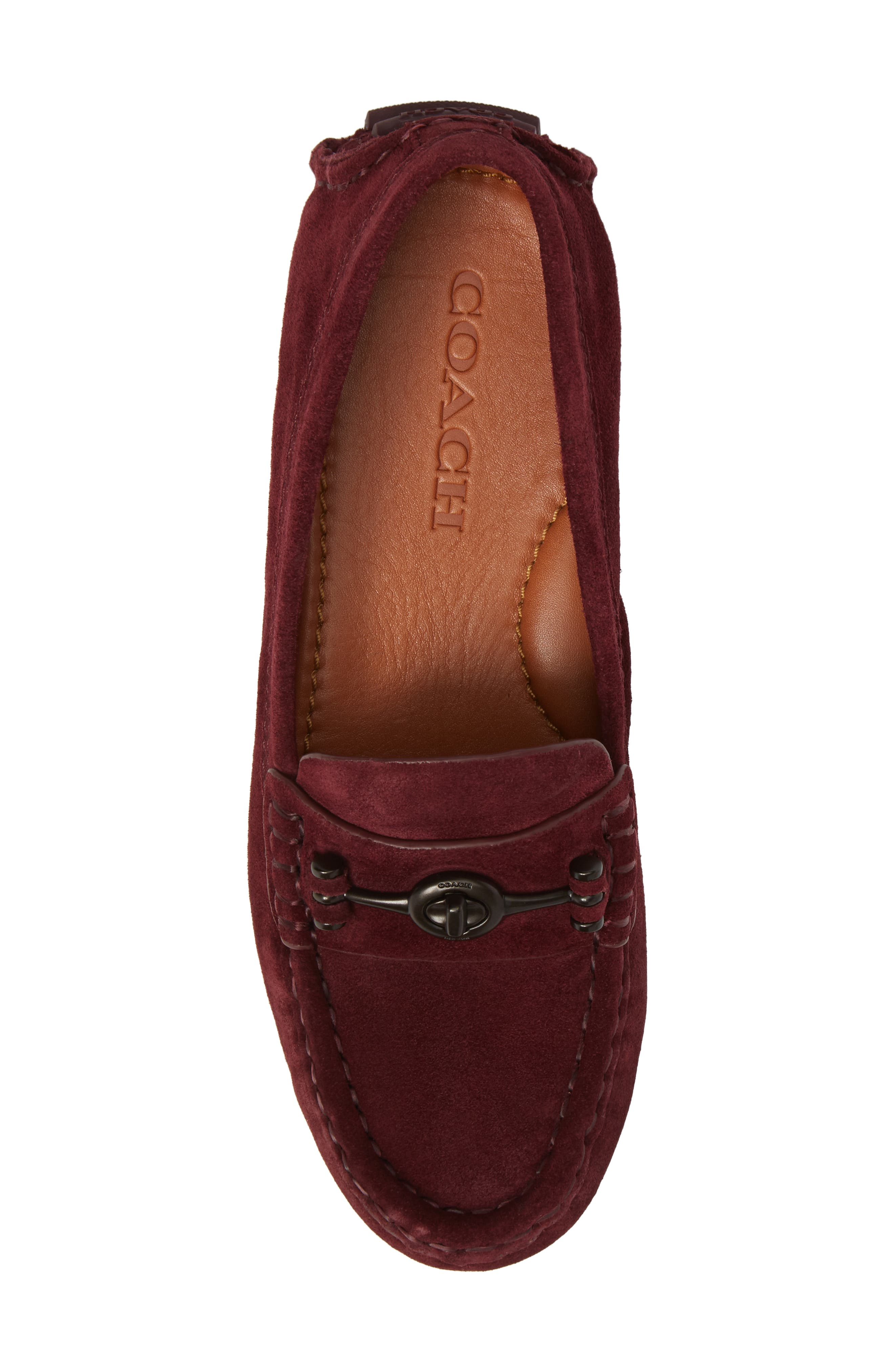 Alternate Image 5  - Coach Crosby Driving Loafer (Women)
